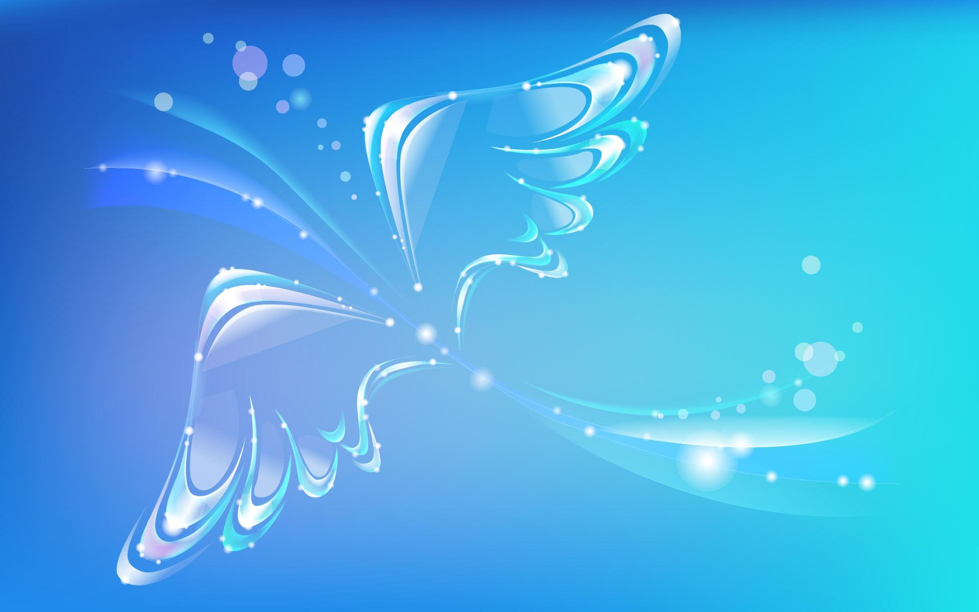 Beautiful Blue Abstract Bird #Wallpaper – HD Wallpapers