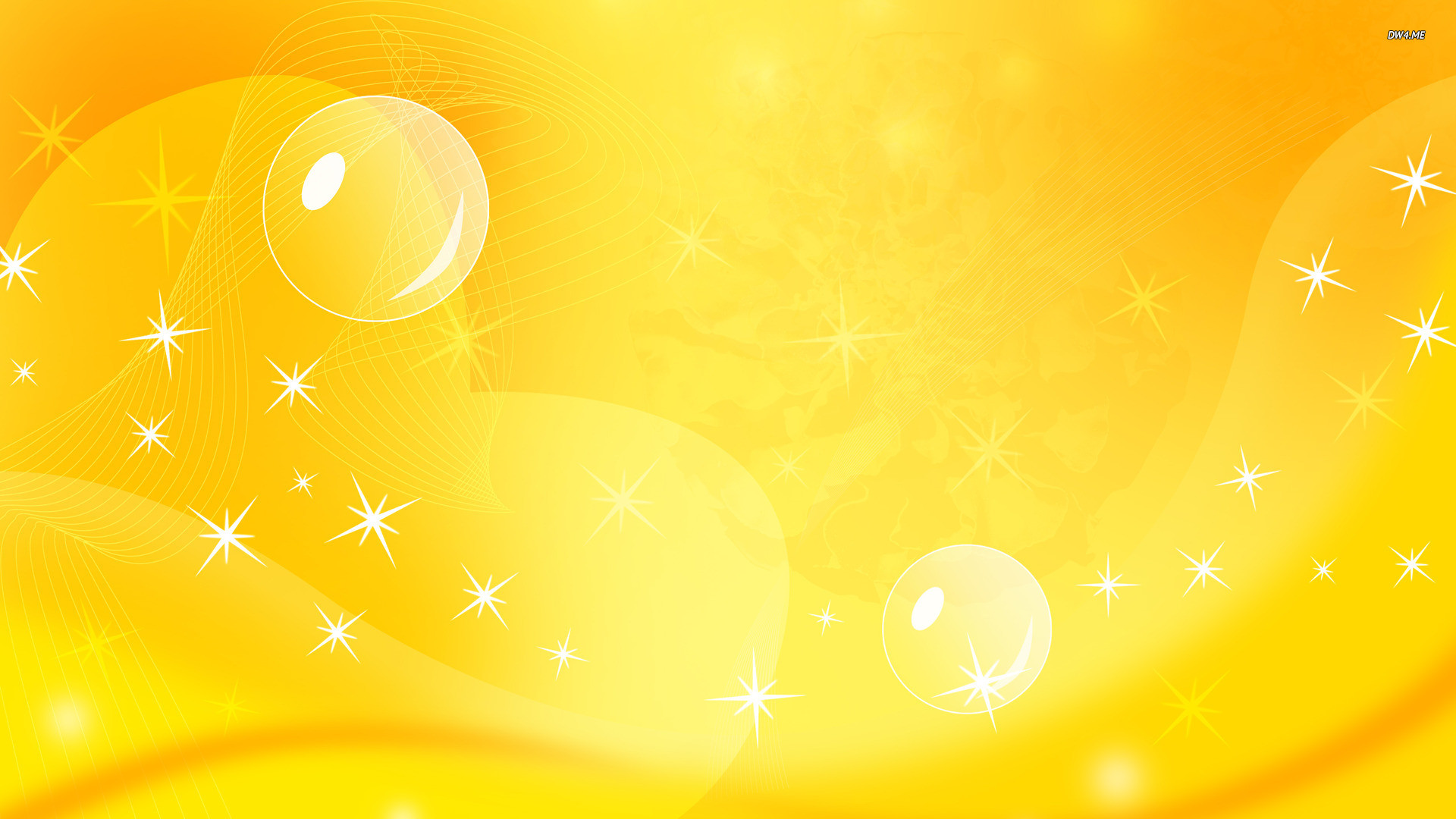 Yellow curves wallpaper – Abstract wallpapers – #833