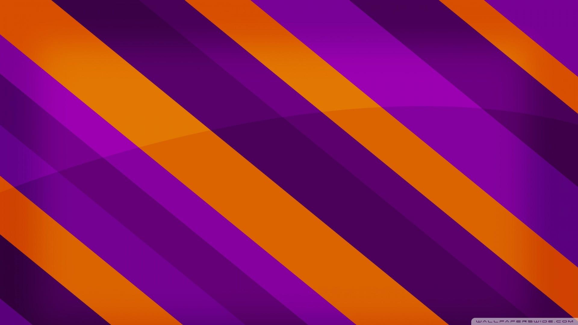 Purple And Orange Wallpaper