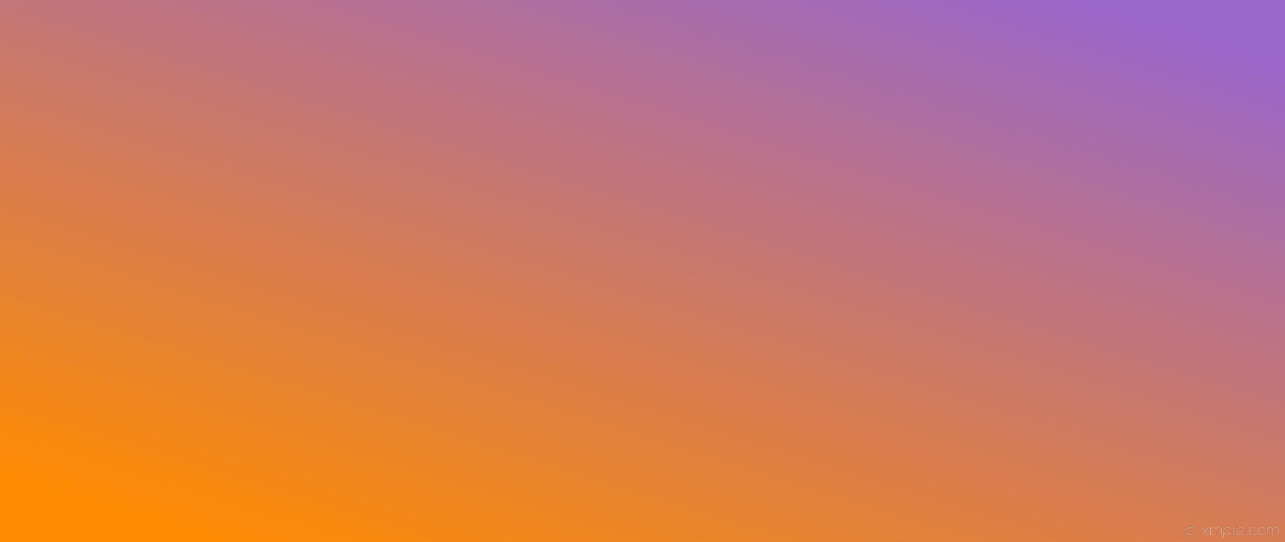 wallpaper orange gradient linear purple dark orange amethyst #ff8c00  #9966cc 210°