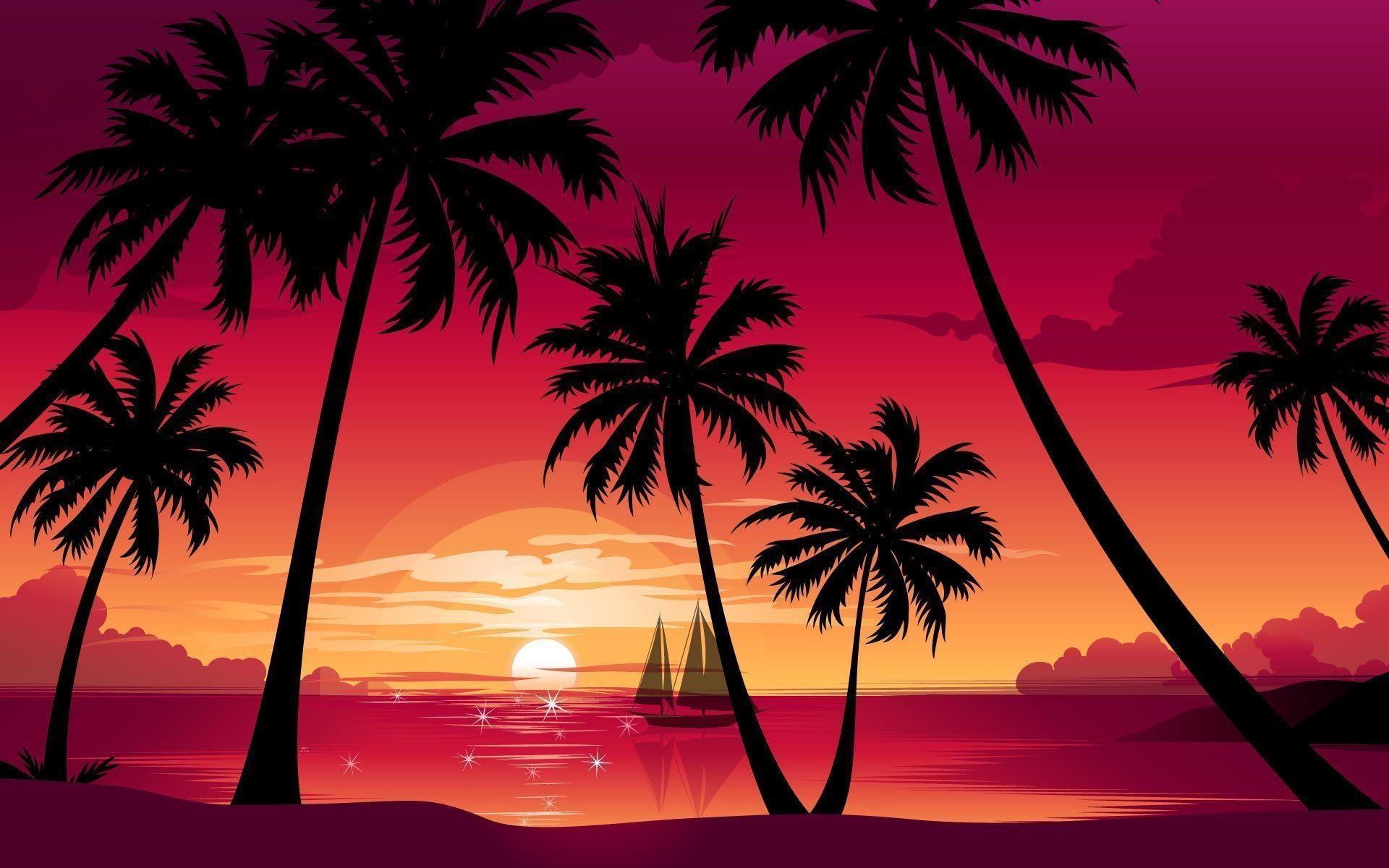 Orange, Purple, and Magenta Sunset pics