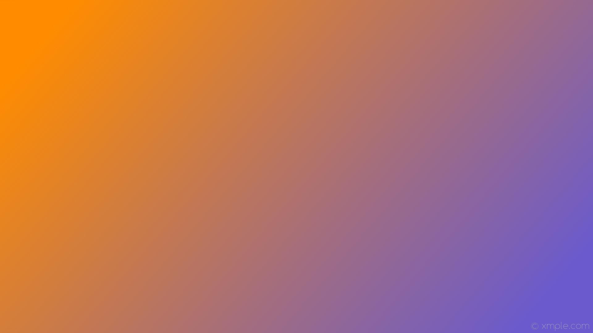 wallpaper purple orange gradient linear slate blue dark orange #6a5acd  #ff8c00 345°