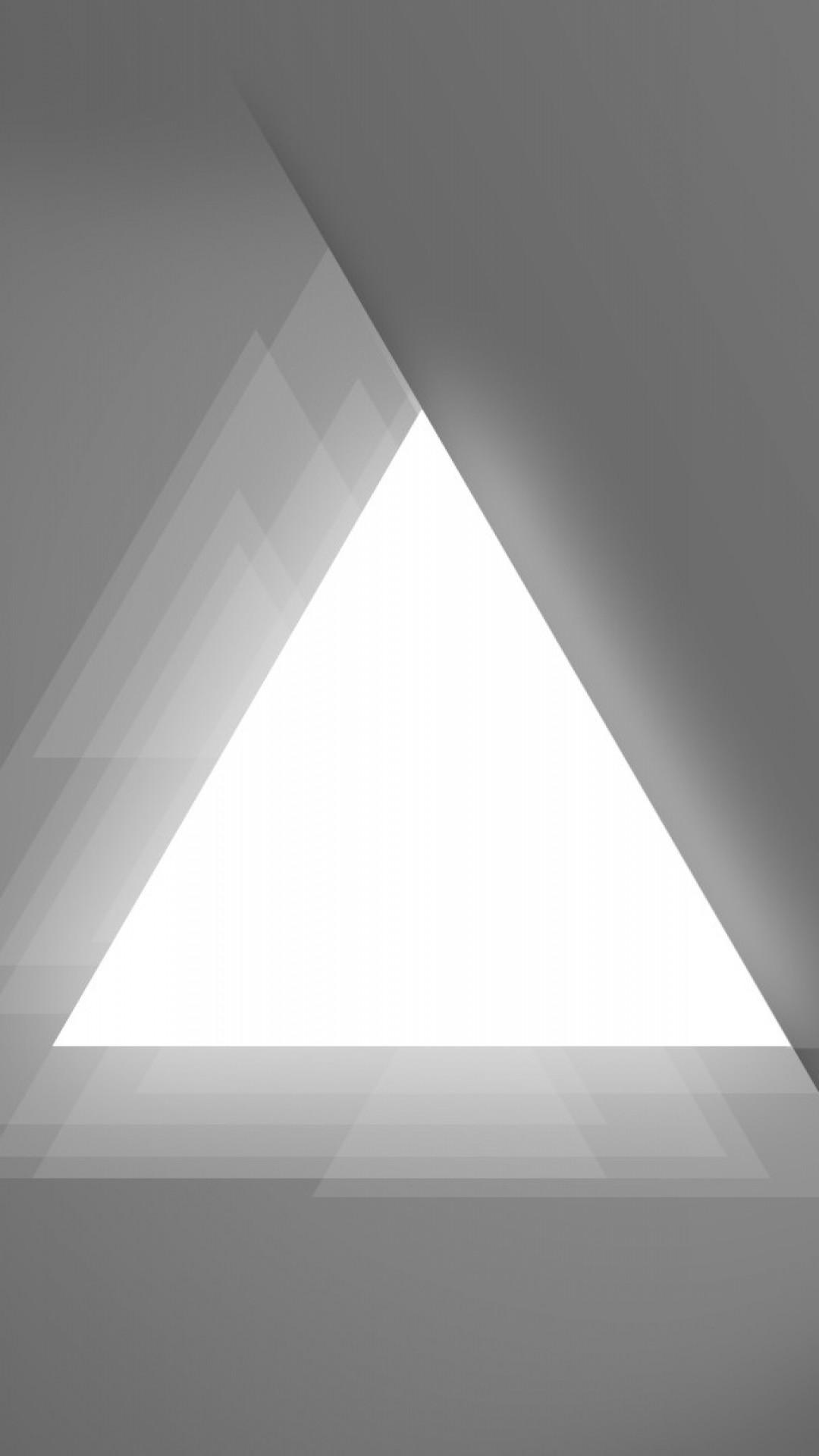 Wallpaper triangle, light, figure, background