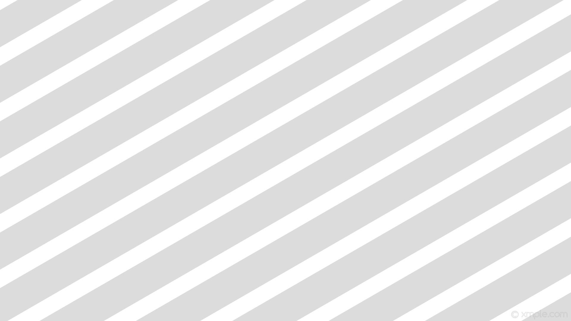 wallpaper white lines stripes streaks grey gainsboro #ffffff #dcdcdc  diagonal 30° 54px 108px