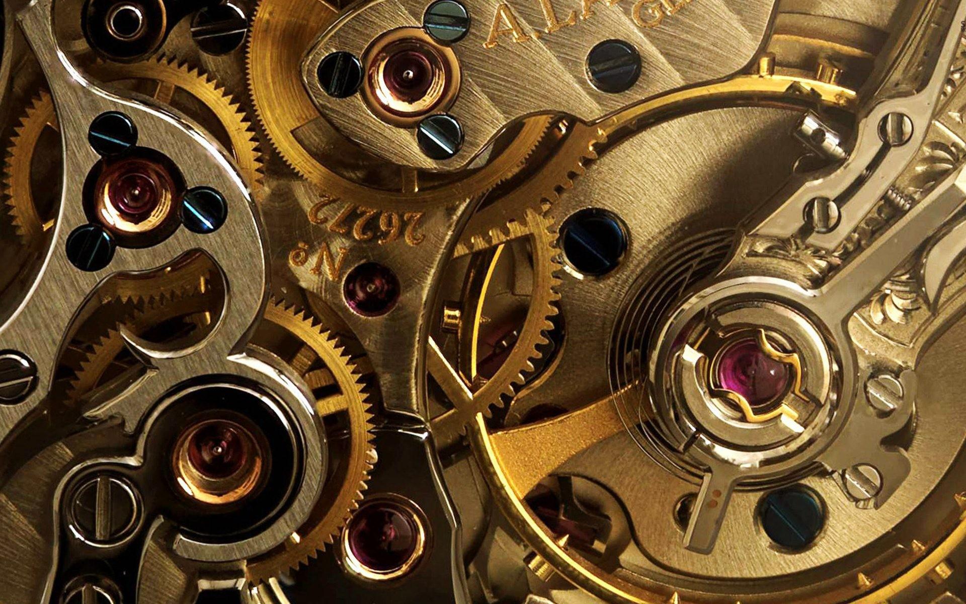 Golden Watch Gears Creative Wallpaper.jpg (1920×1200)