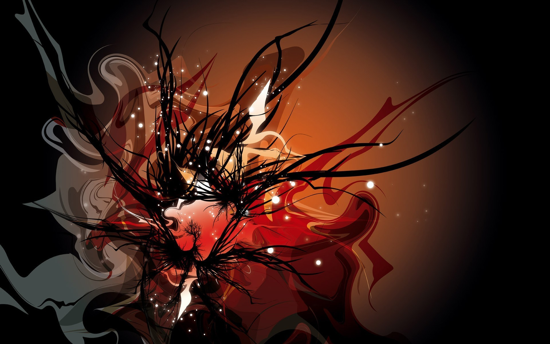 … Wallpaper Hd; Black White And Red