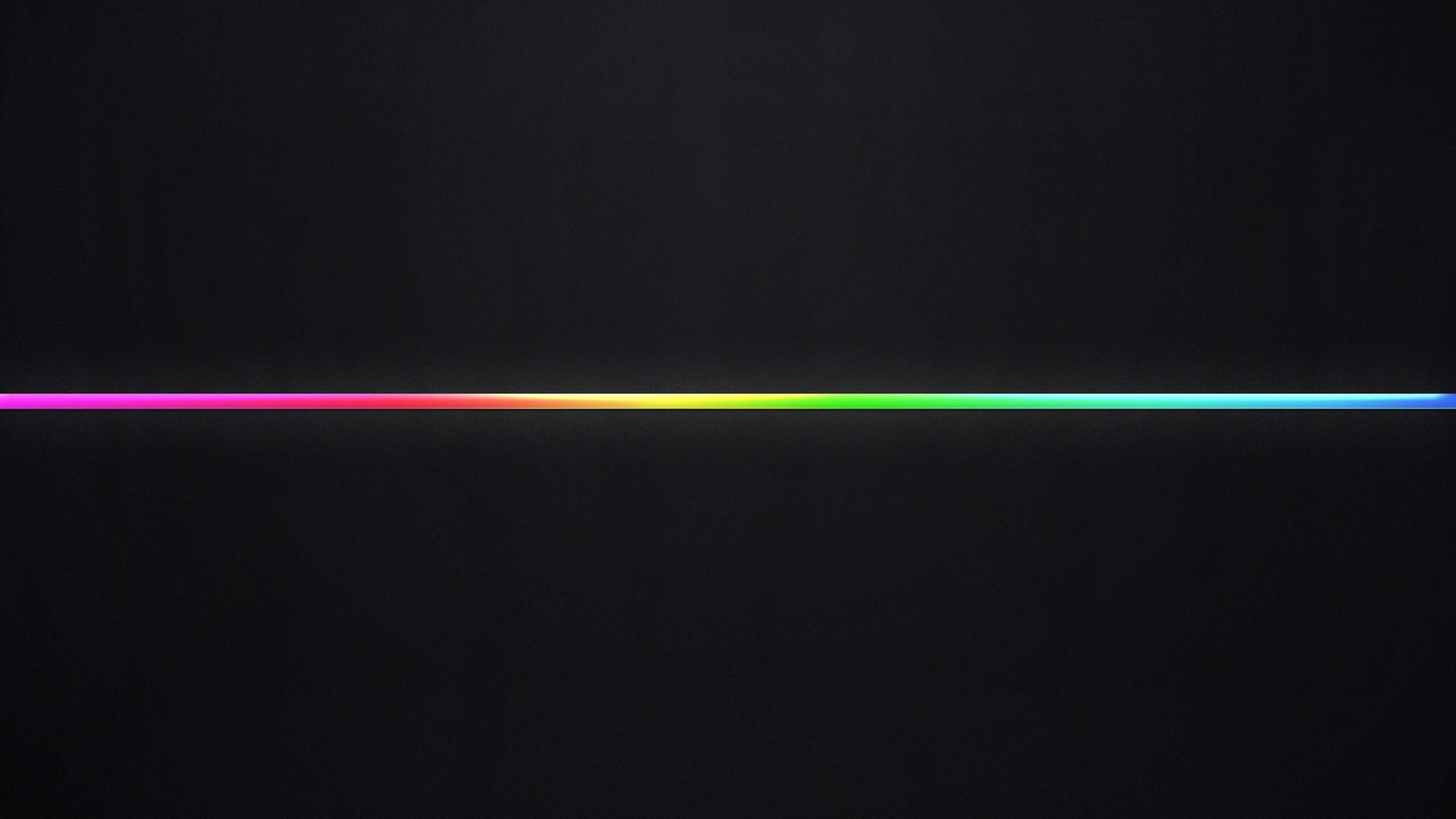Wallpaper line, multi-colored, black background