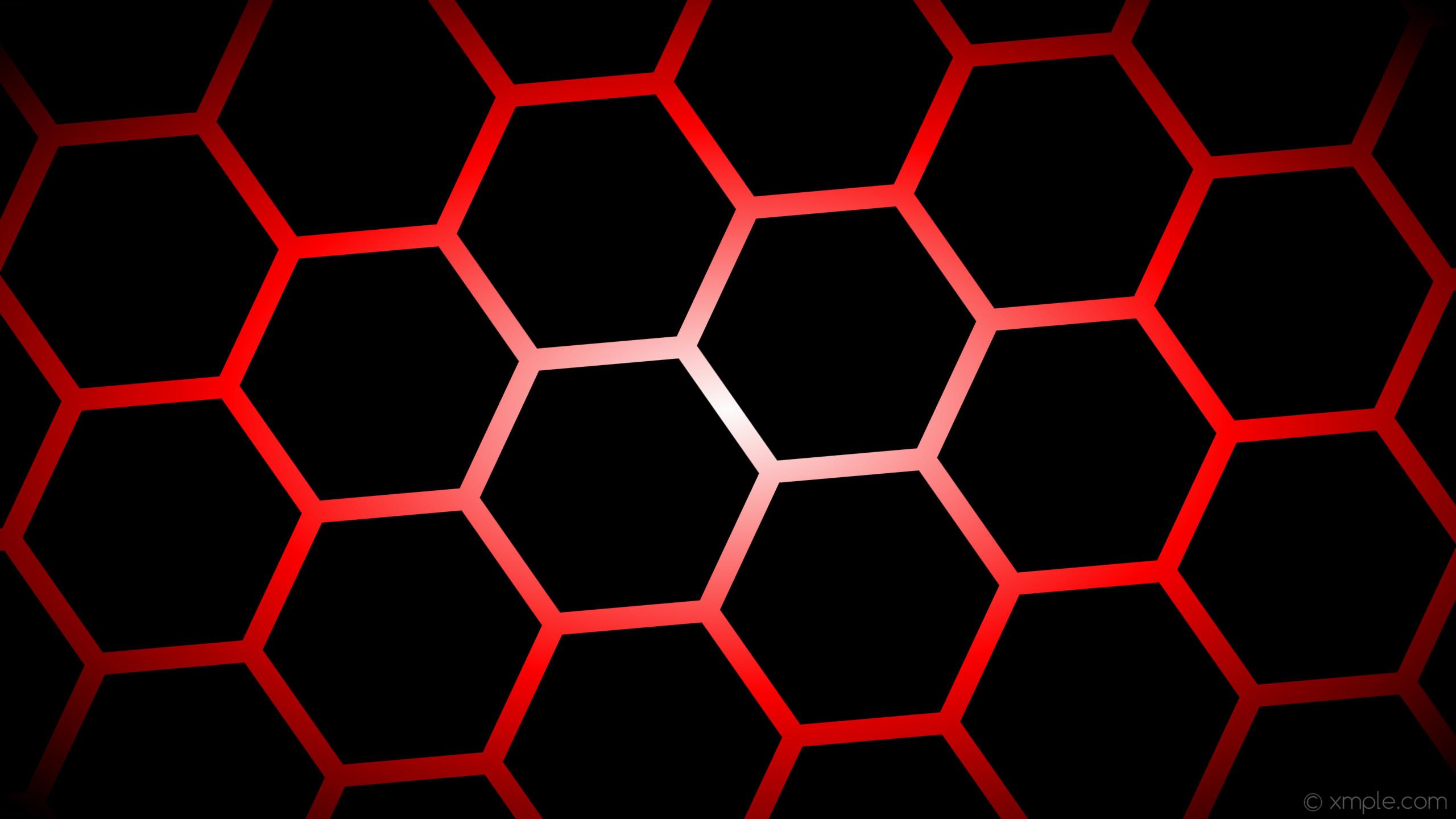 wallpaper black glow hexagon white gradient red #000000 #ffffff #ff0000  diagonal 35°. Wallpaper background black glow hexagon white gradient red  …