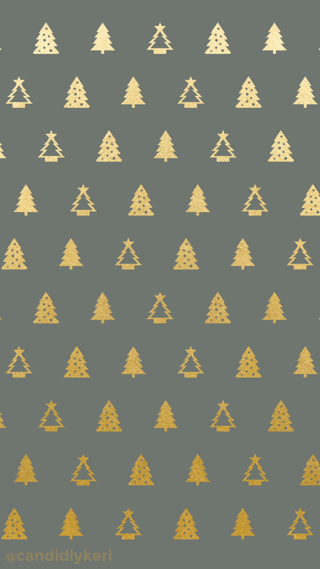 Christmas tree gold foil green background wallpaper you can download for  free on the blog!