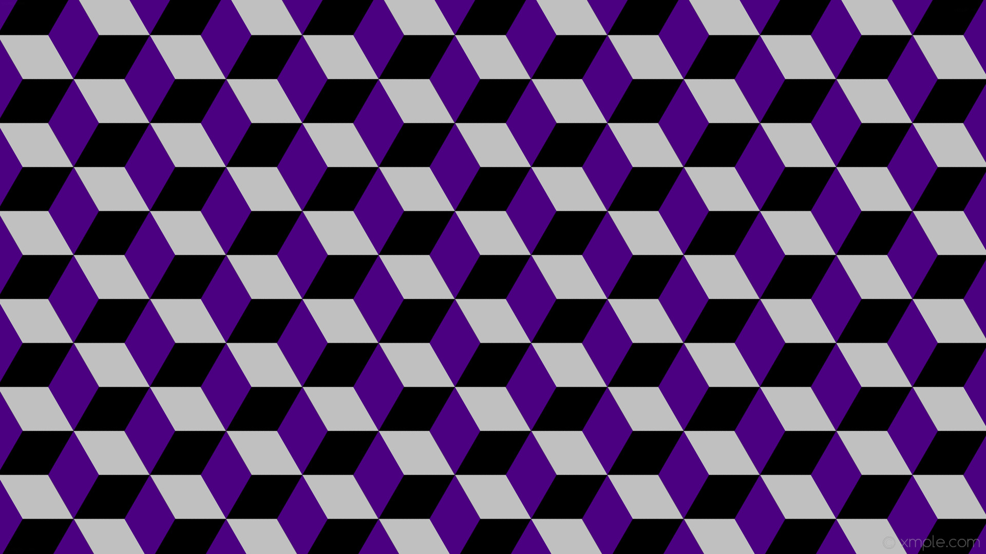 Black Purple And Silver Wallpaper