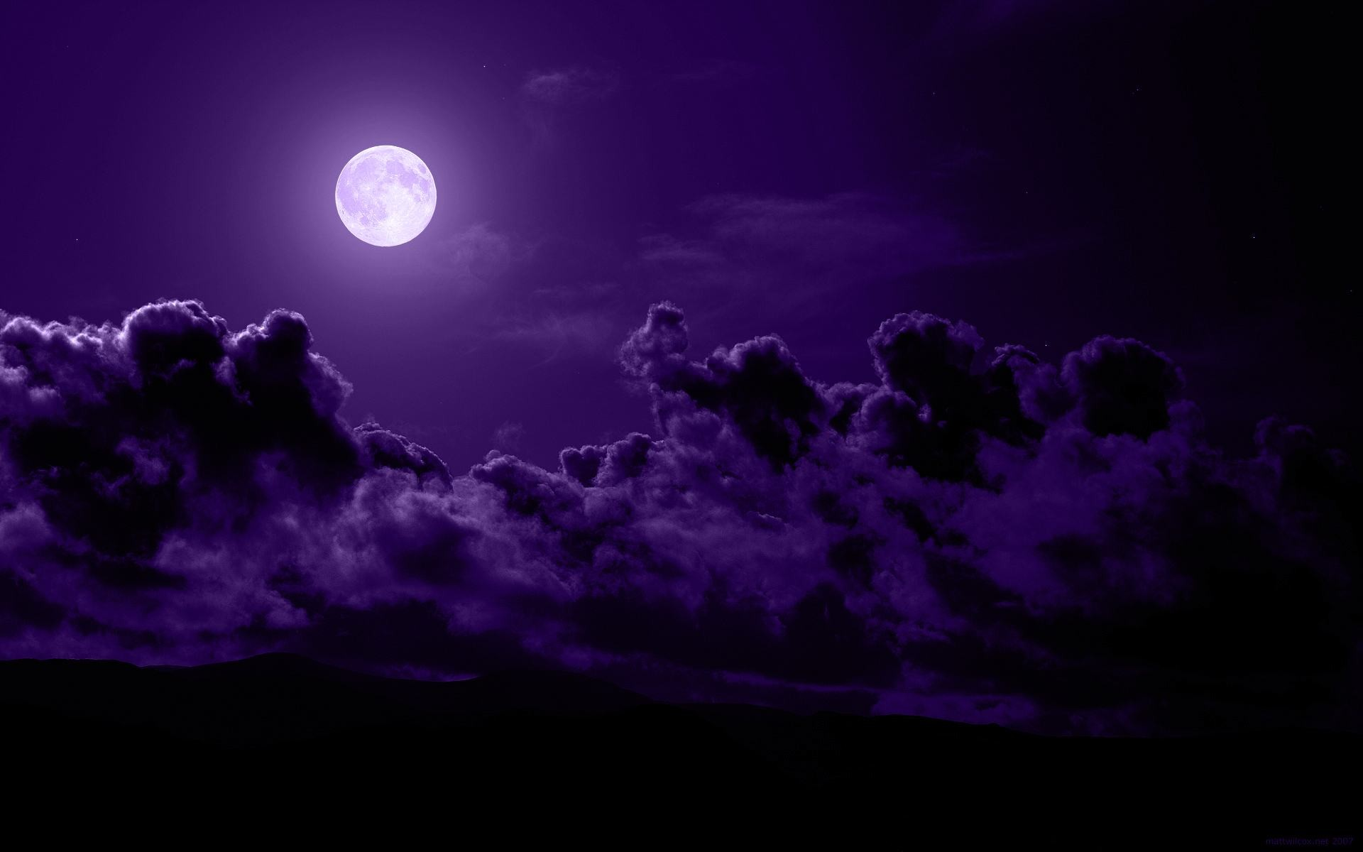 Free Purple Abstract Wallpaper