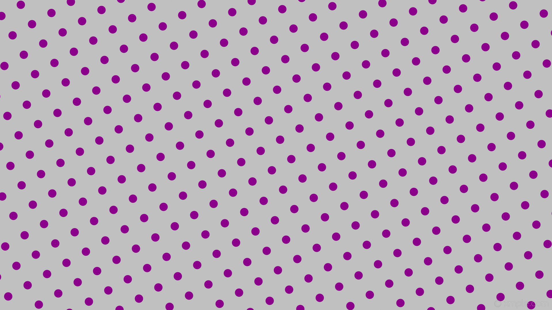 wallpaper polka spots dots purple grey silver dark magenta #c0c0c0 #8b008b  210° 29px