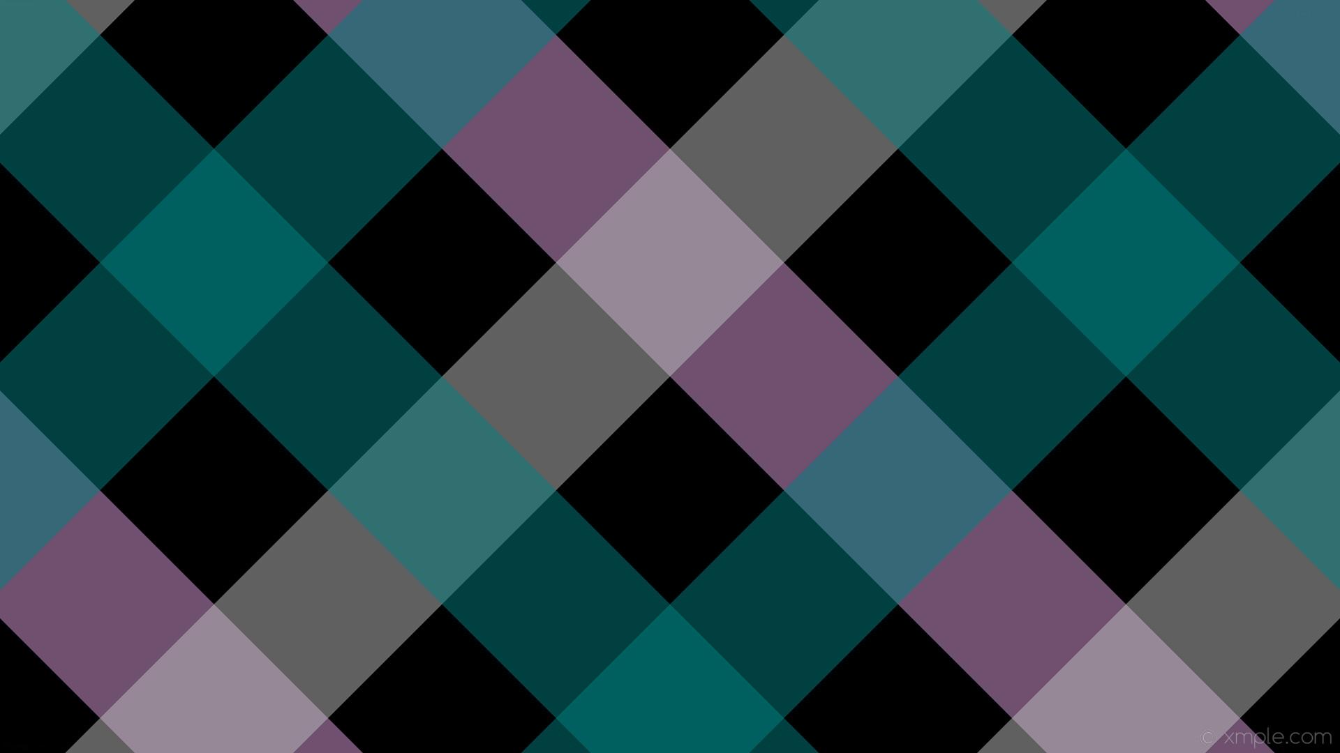 wallpaper quad purple green grey striped gingham black plum silver teal  #000000 #dda0dd #