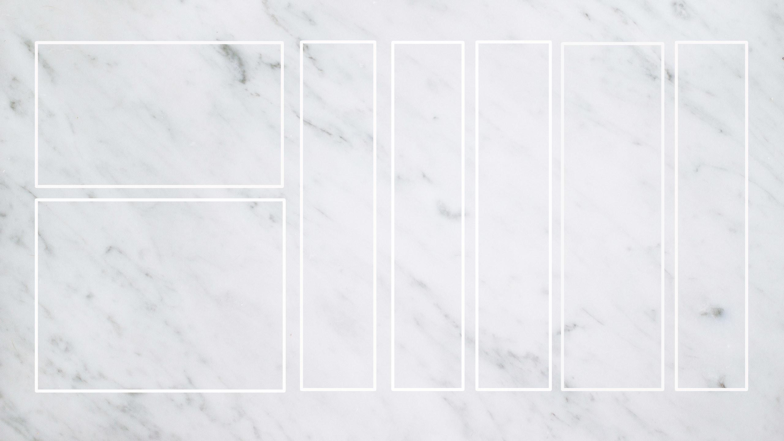 Grey white blank marble desktop organizer wallpaper | artwork |  illustrations | photography | Pinterest | Desktop organizer wallpaper,  Wallpaper and …