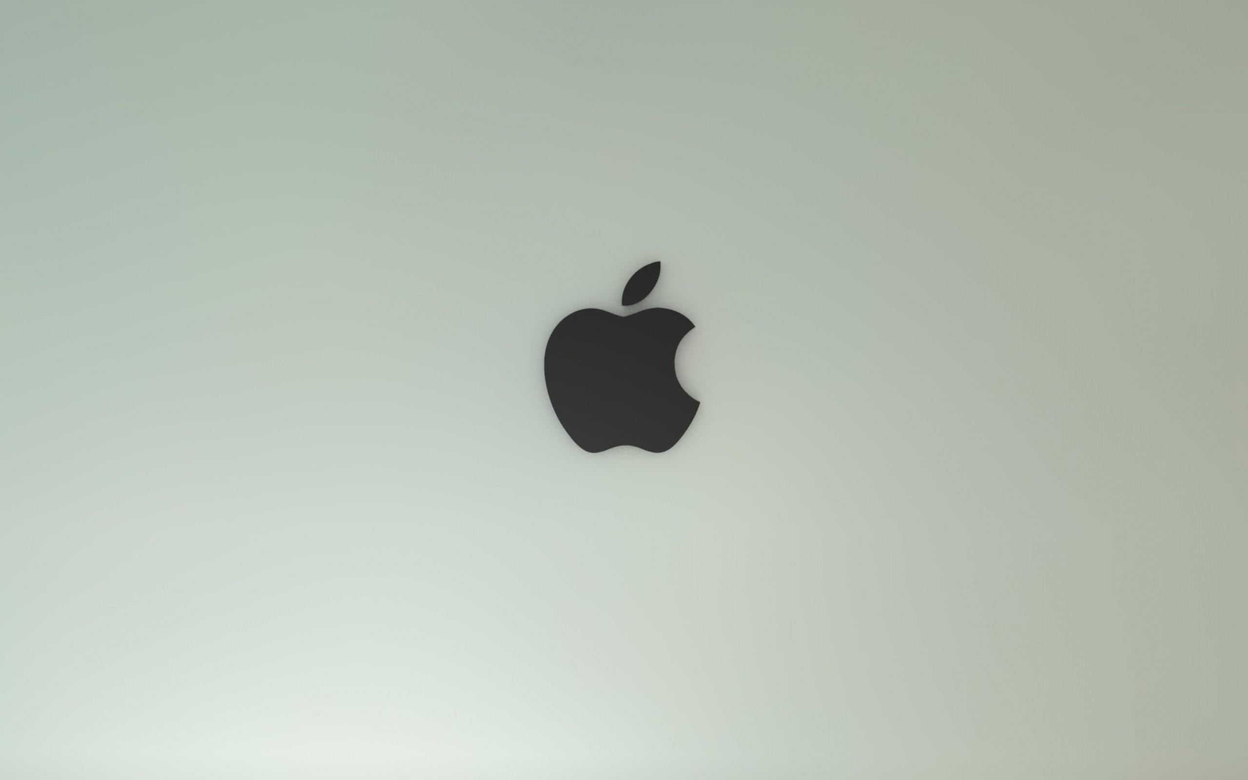 Wallpaper apple, mac, brand, background, solid