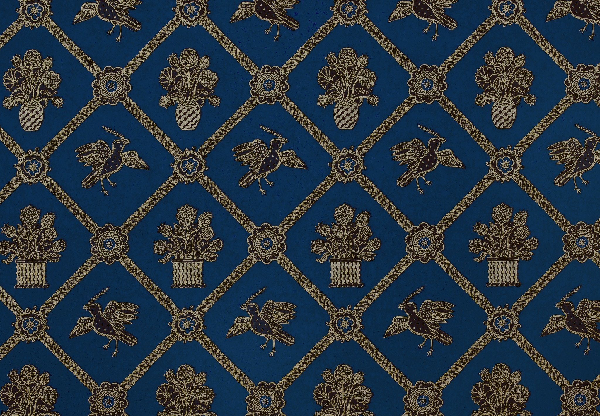 Royal Blue And Gold Wallpapers by Peter Day #10