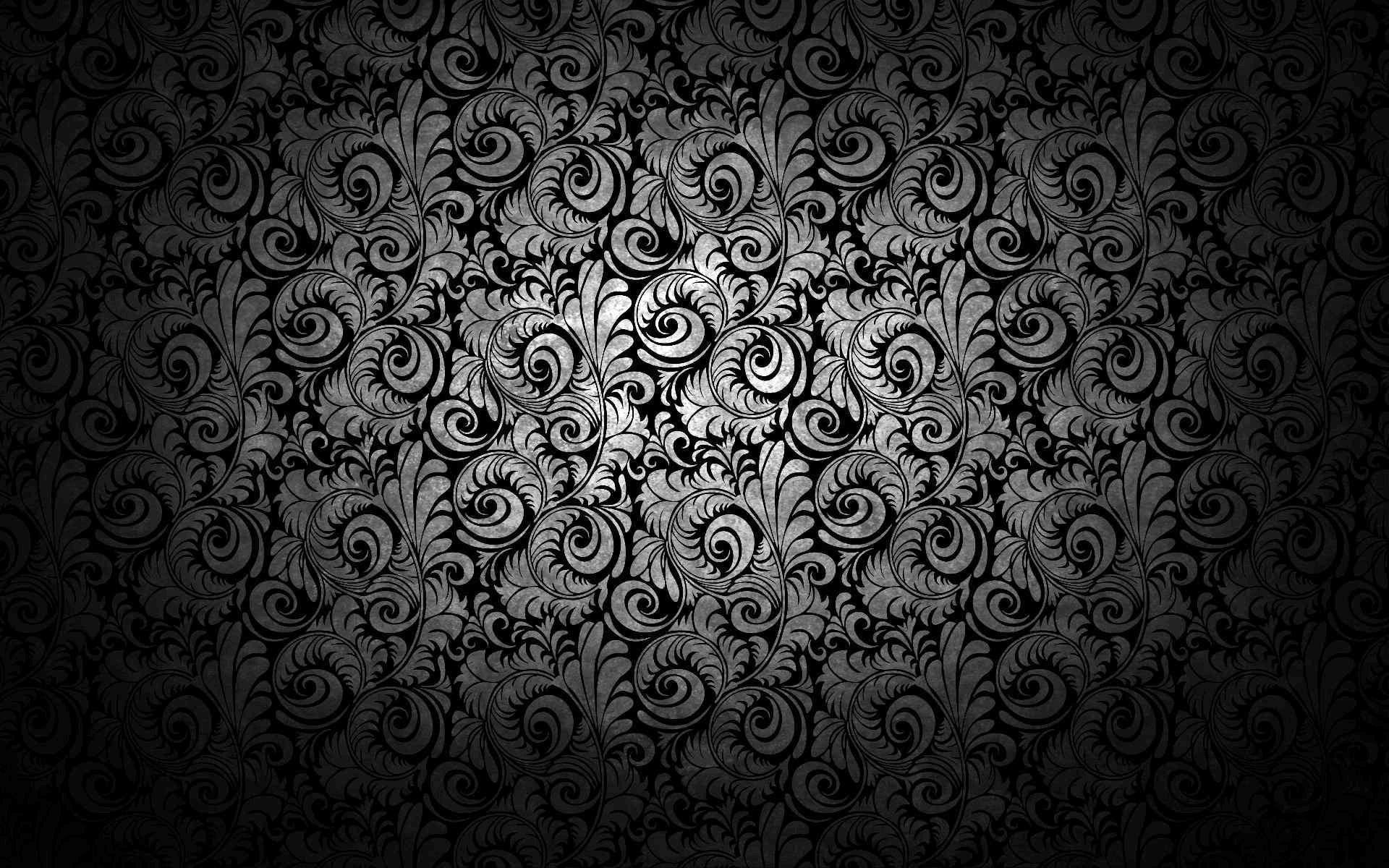 Black Texture Background Wallpaper