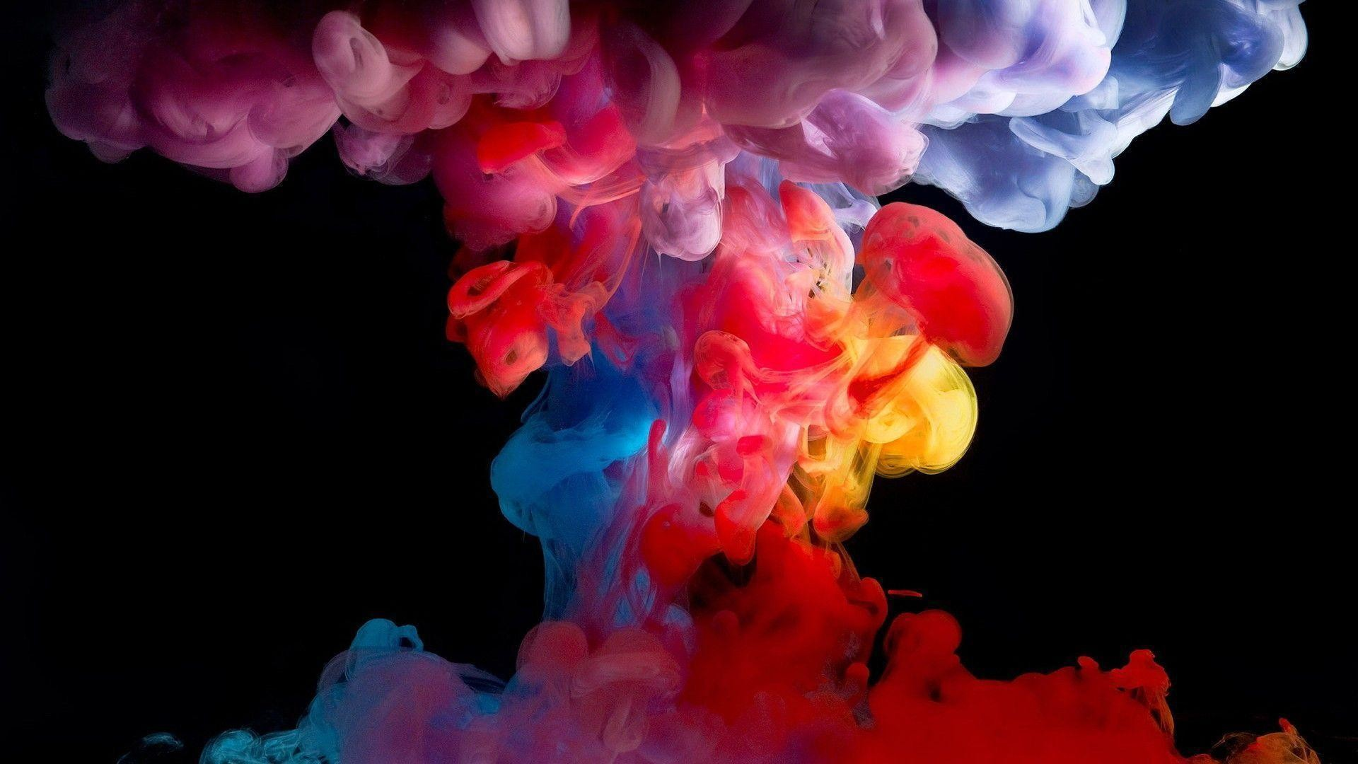 Colorful Smoke Wallpapers and Background