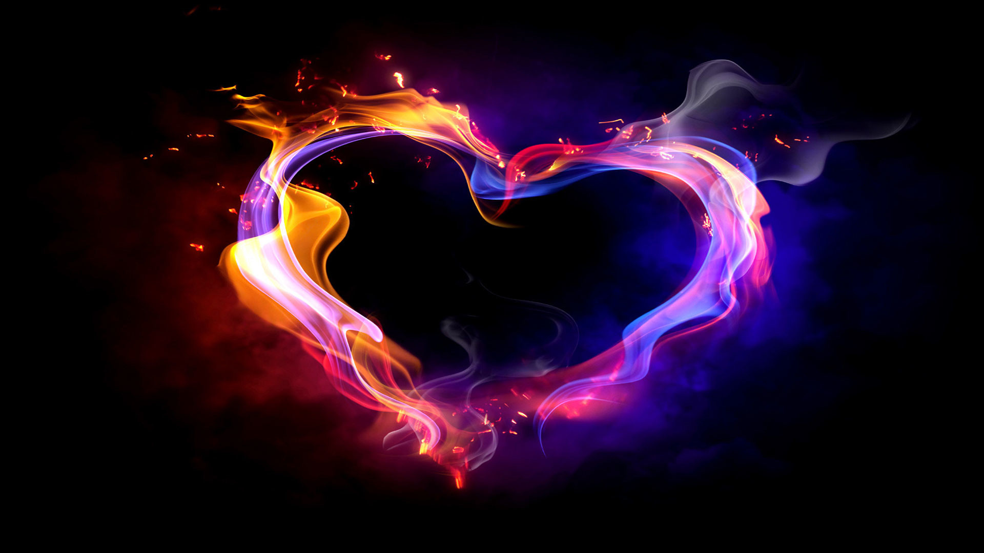colorful-smoke-heart-20818-hd-widescreen-wallpapers Download Colorful .