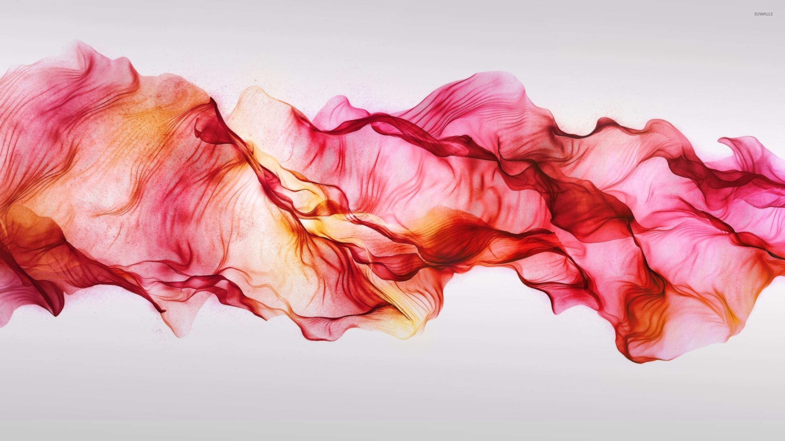 Red smoke mixing in the air wallpaper jpg