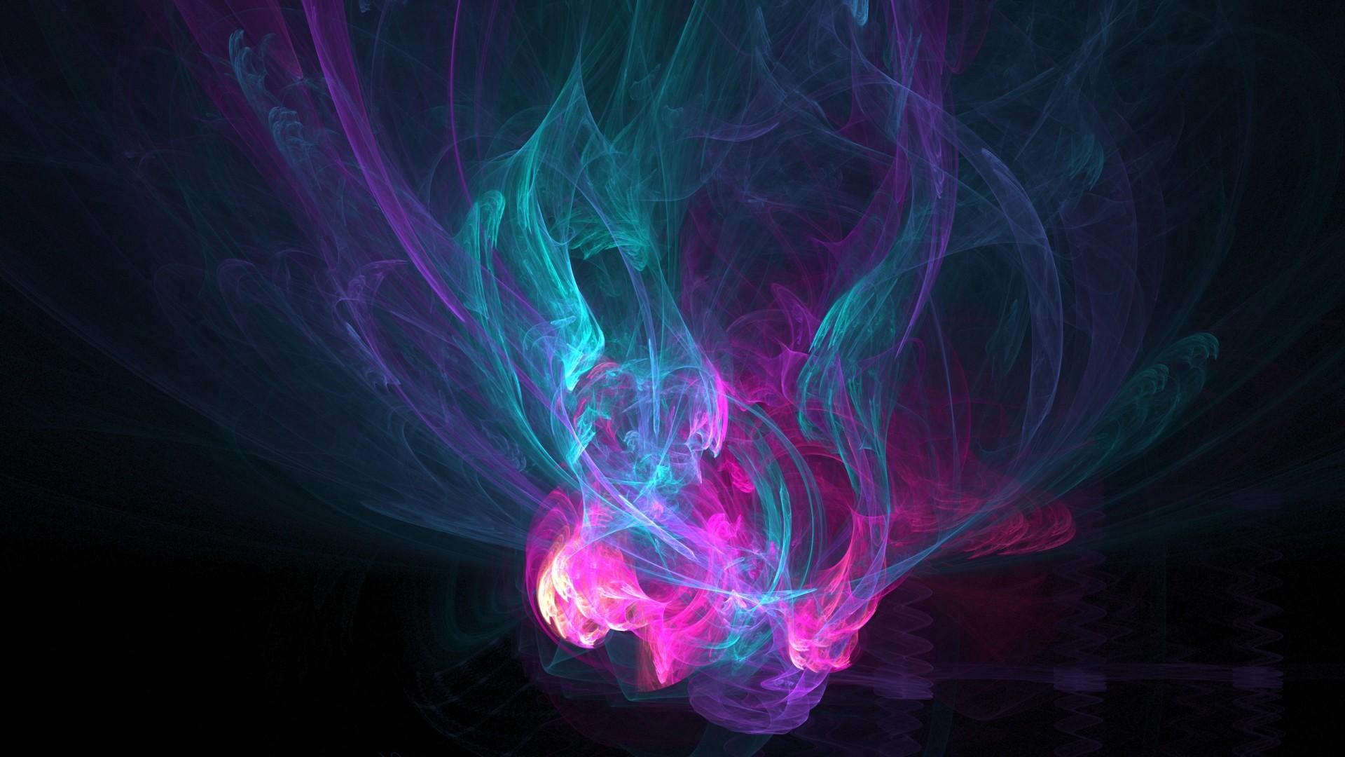Colorful Smoke Abstract HD desktop wallpaper, Smoke wallpaper – Abstract no.