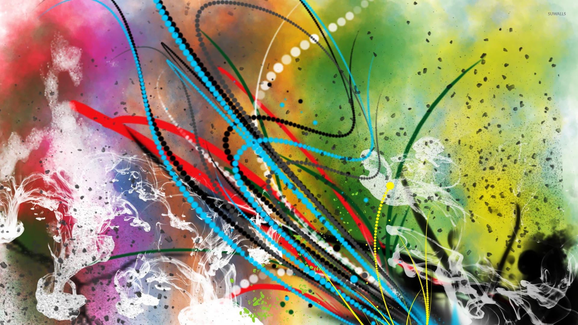 Colorful Smoke [4] wallpaper jpg