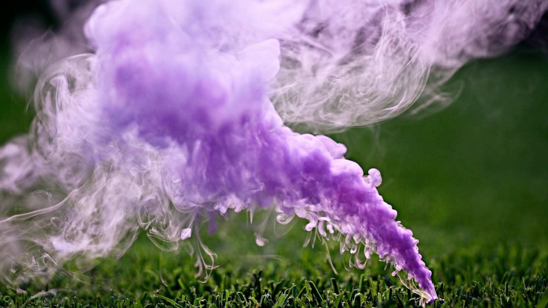 4K HD Wallpaper: Colored Smoke
