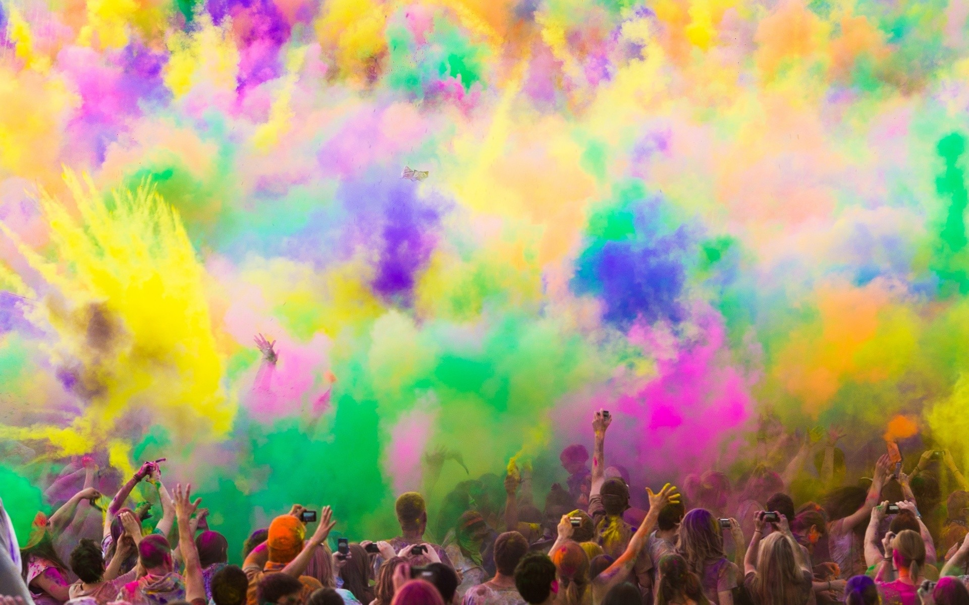 Download and View Full Size Photo. This Colorful Paint Smoke …