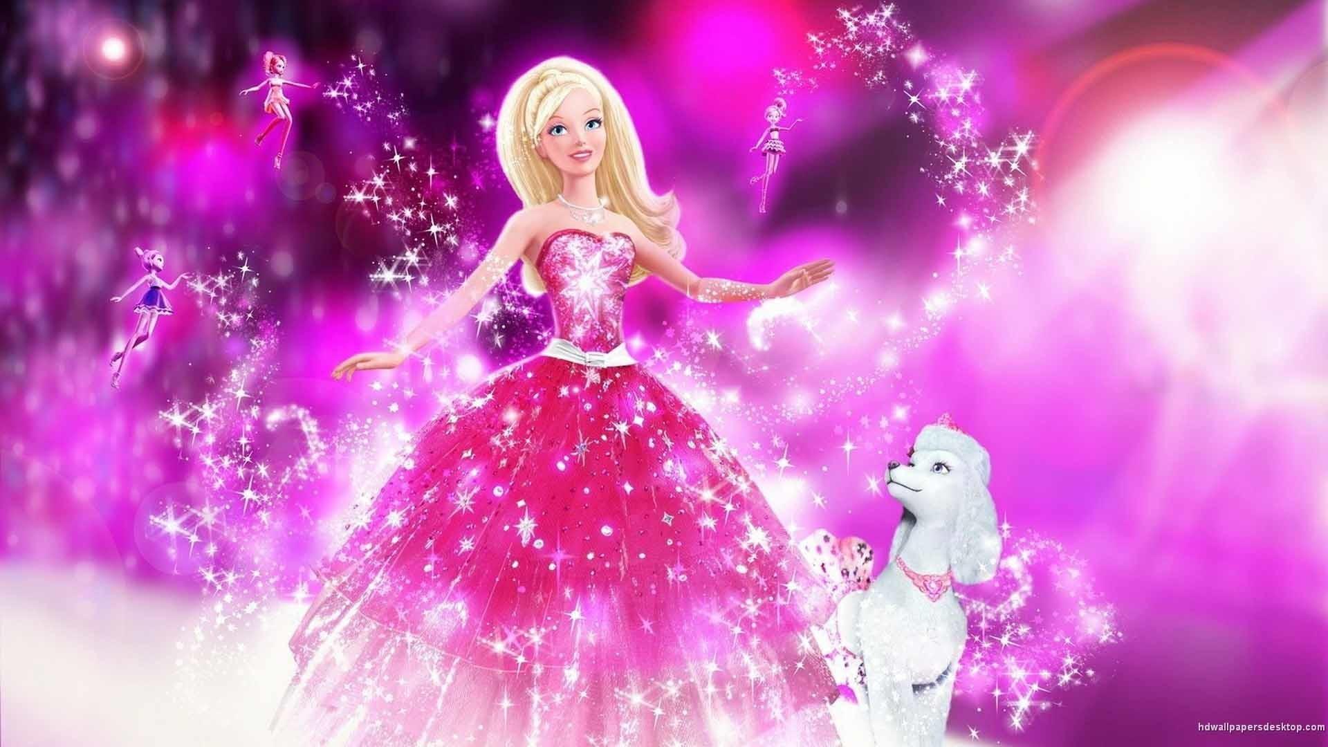 Barbie In A Fashion Fairy Tail HD Desktop Background