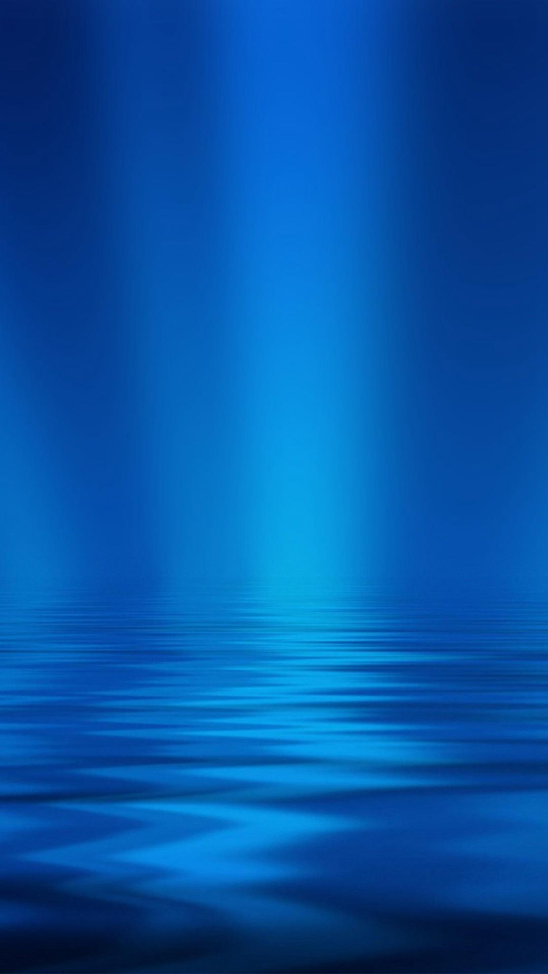 Sea Blue Ripple Pattern iPhone 6 wallpaper