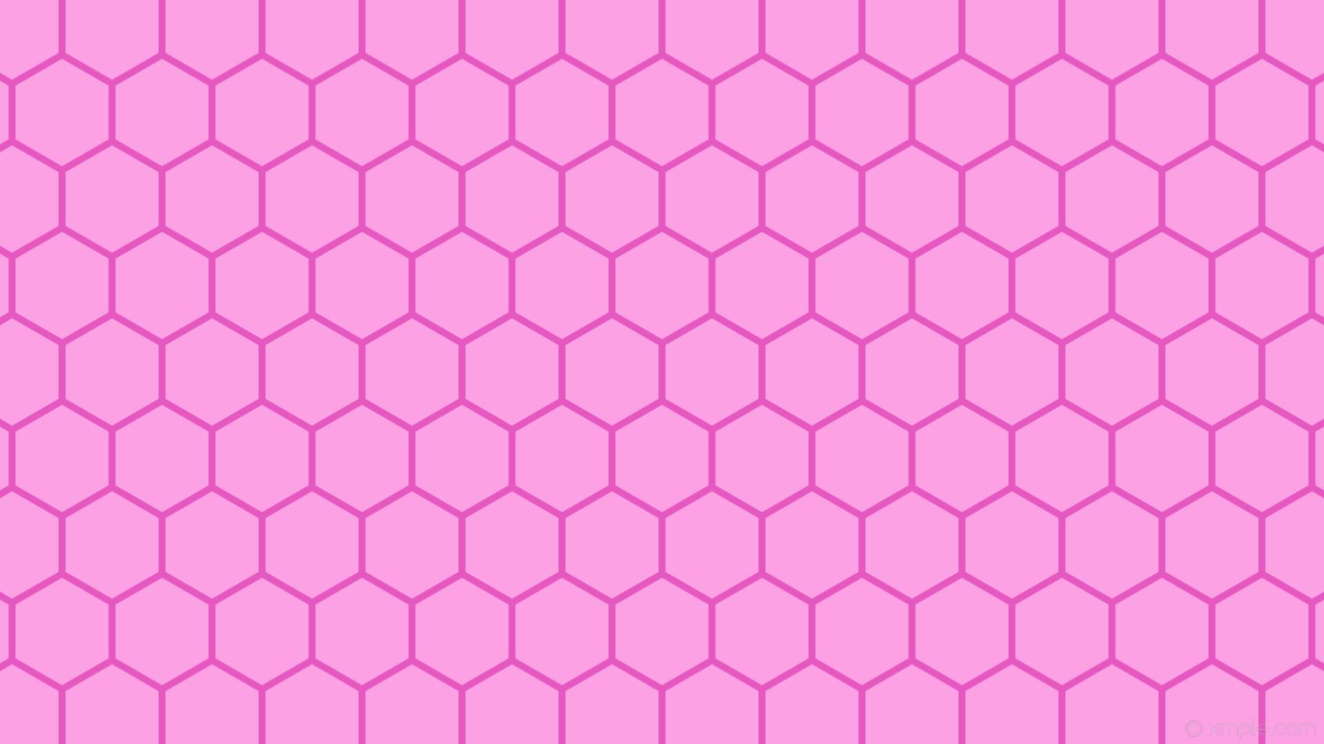 wallpaper beehive honeycomb pink hexagon light pink #fda1e5 #e558c0 0° 10px  145px