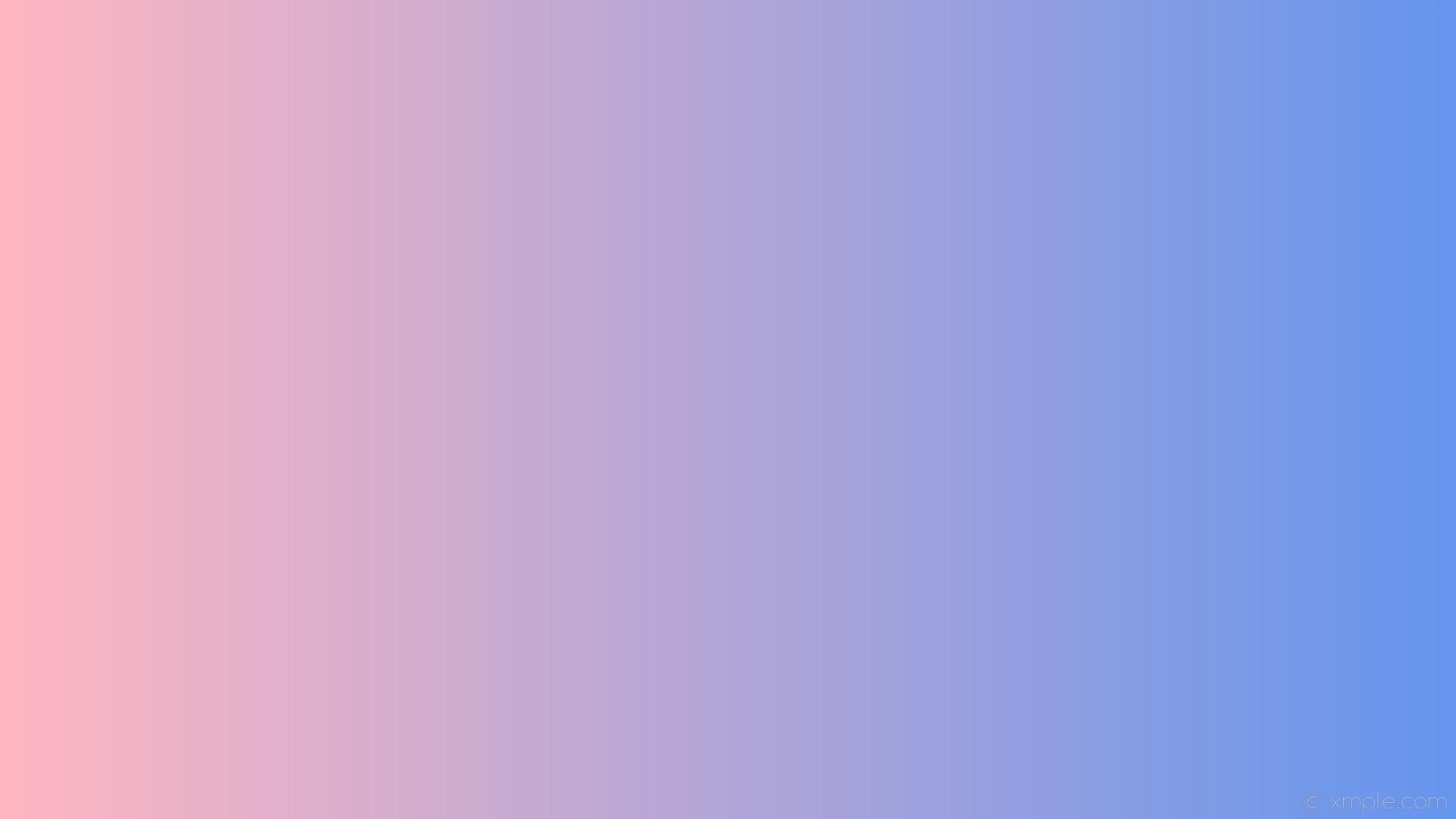 wallpaper blue pink linear gradient cornflower blue light pink #6495ed  #ffb6c1 0°