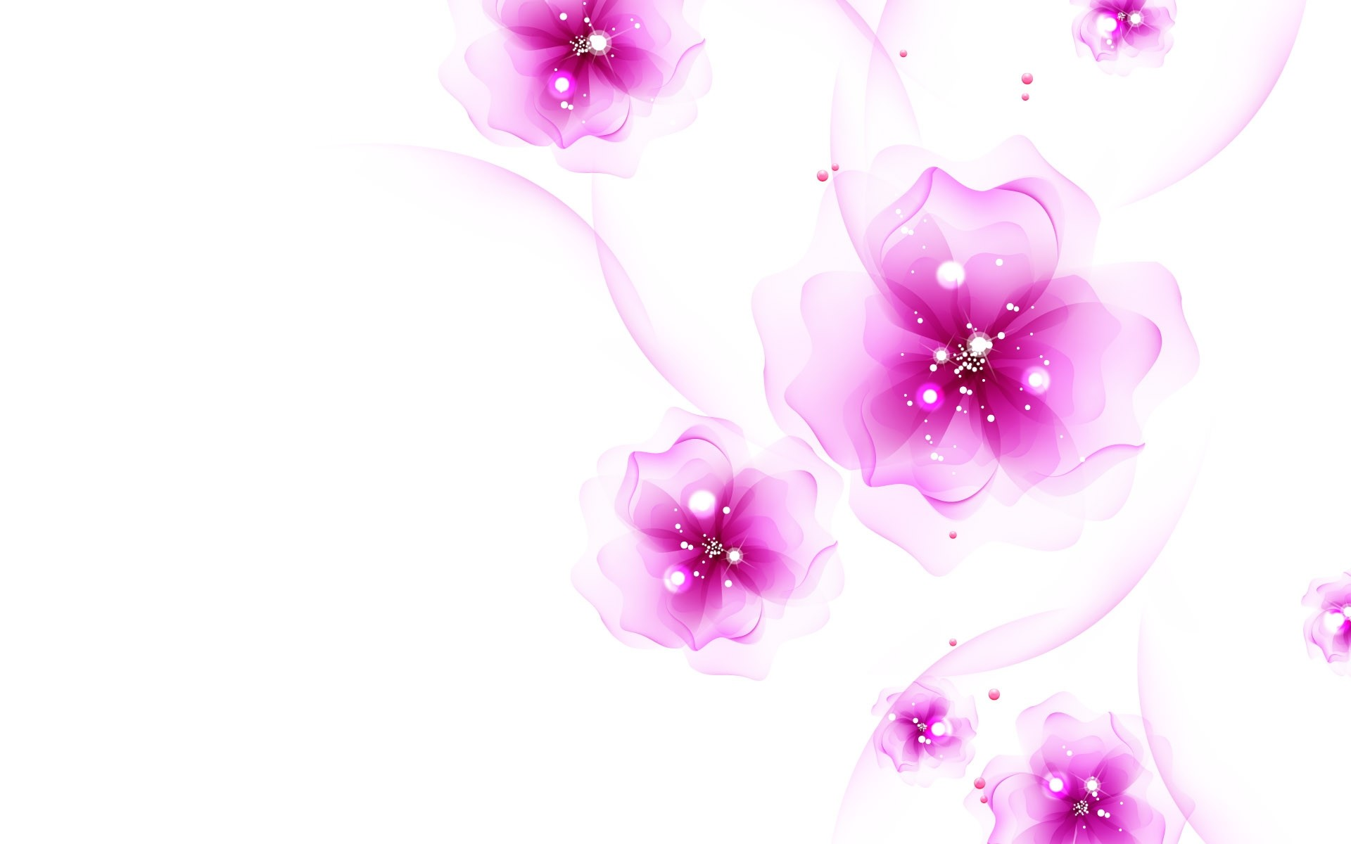 Pink and White Wallpaper