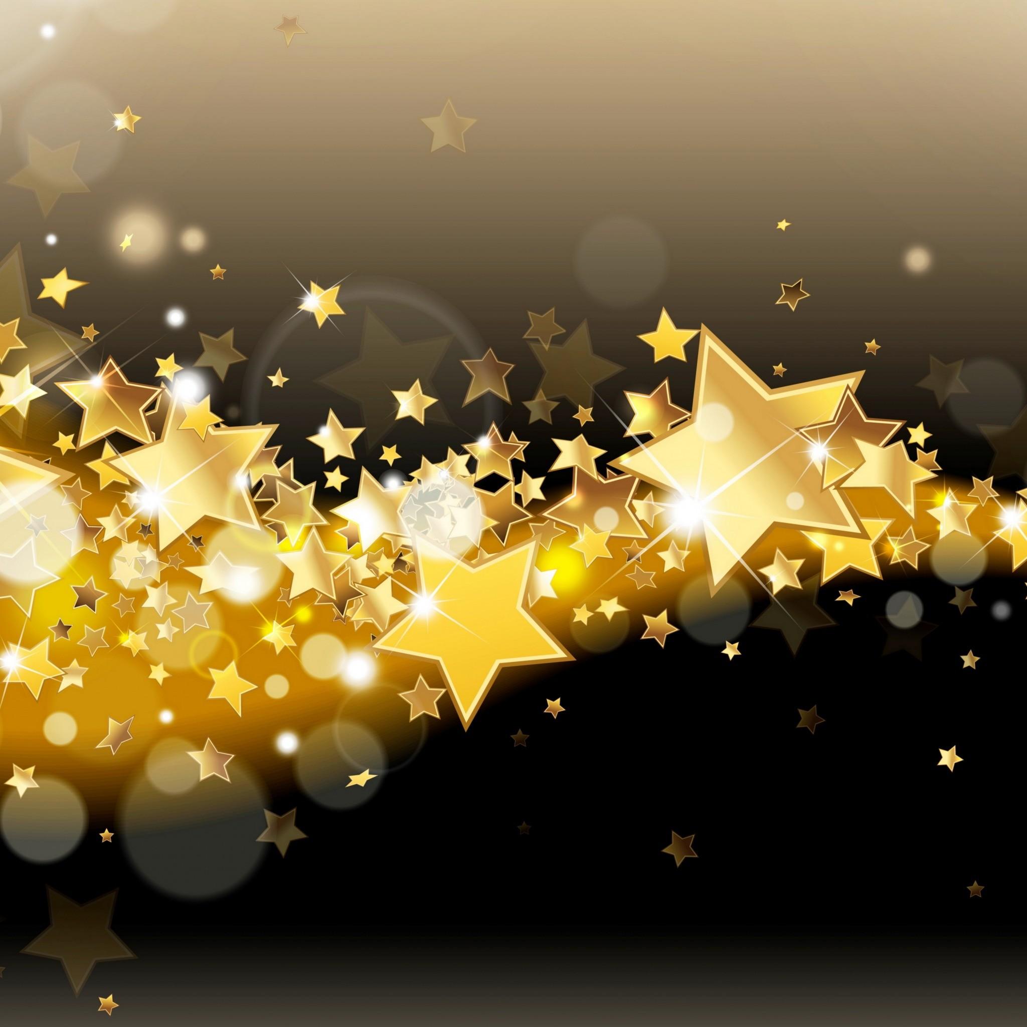 gold lights wallpaper