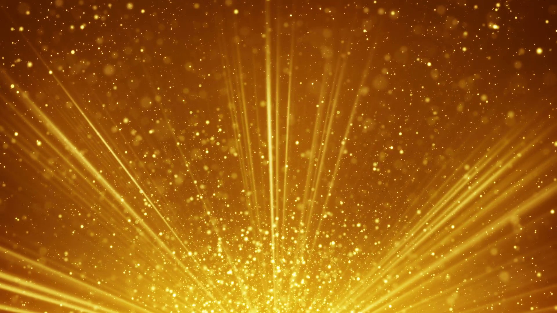 golden light rays and particles loopable background Motion Background –  VideoBlocks