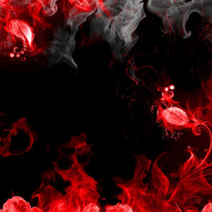 Black Red Background
