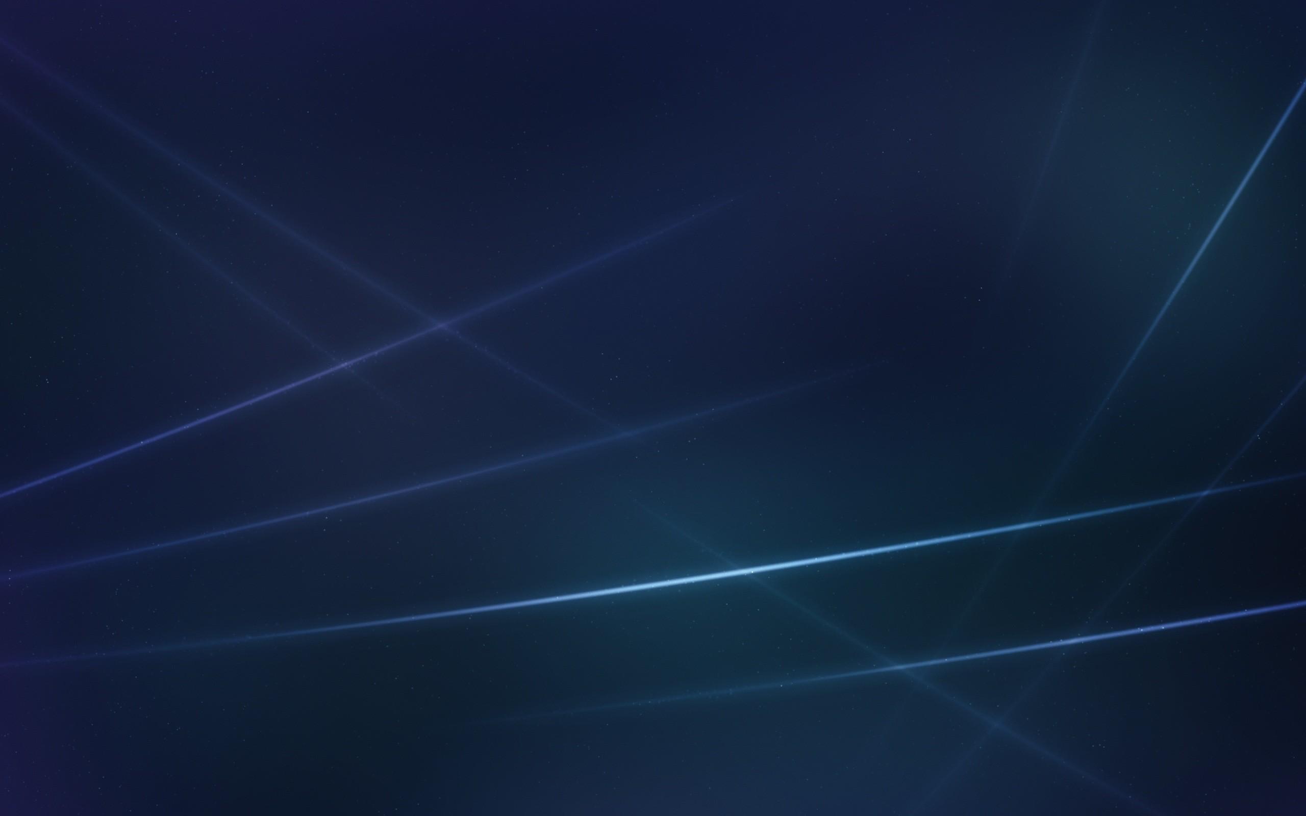 Light Rays, Dark Blue Background