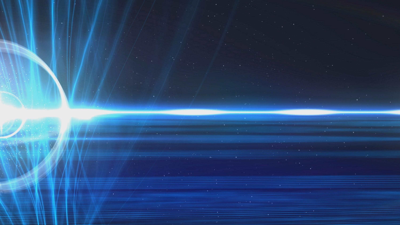 60fps Dark Blue Strings of Light Halo Effect Motion Background – YouTube