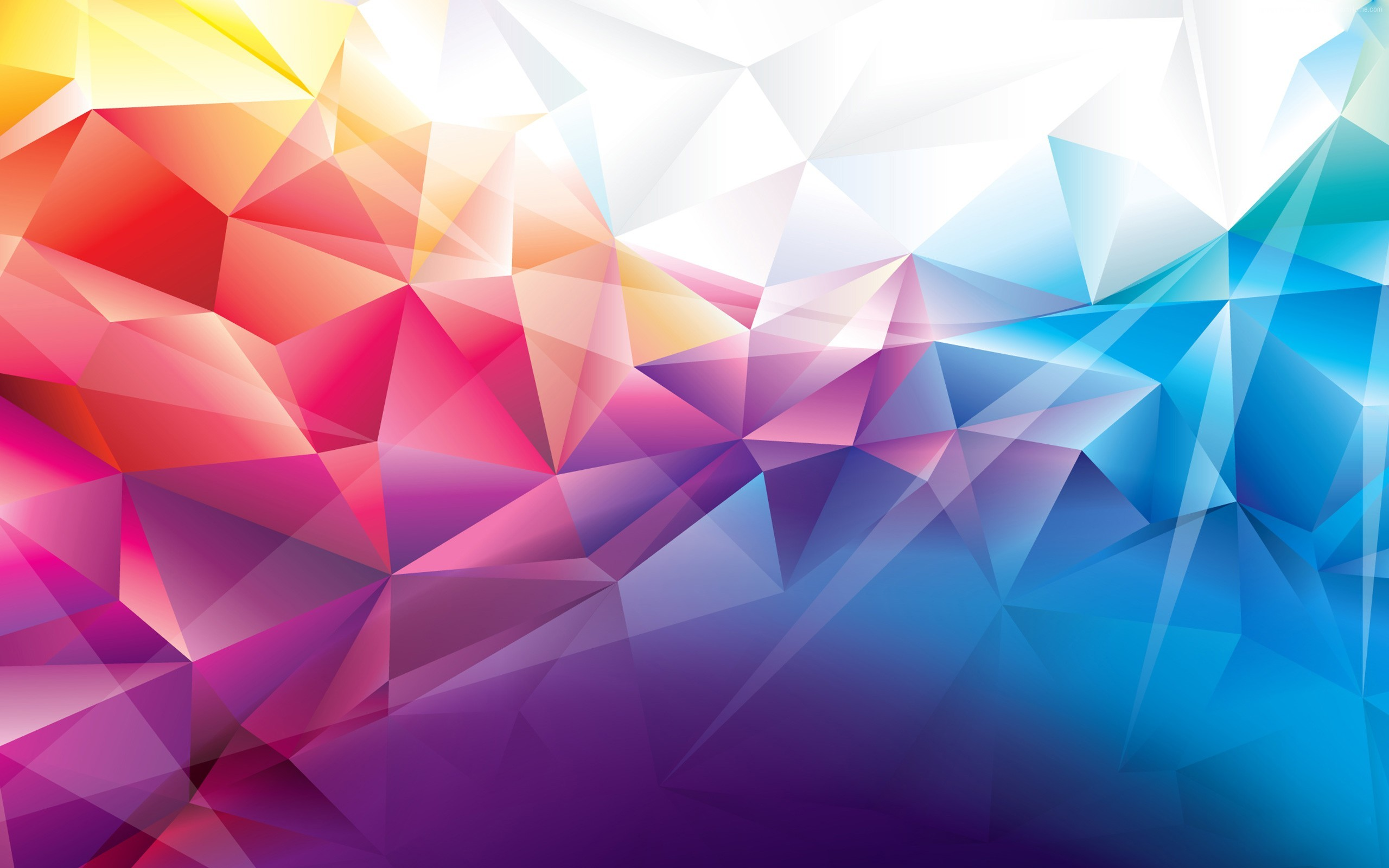 Wallpaper polygon, 4k, HD wallpaper, orange, red, blue, background,  pattern, Abstract #225. Bring some HD wallpapers into your life with  WallpapersHome!