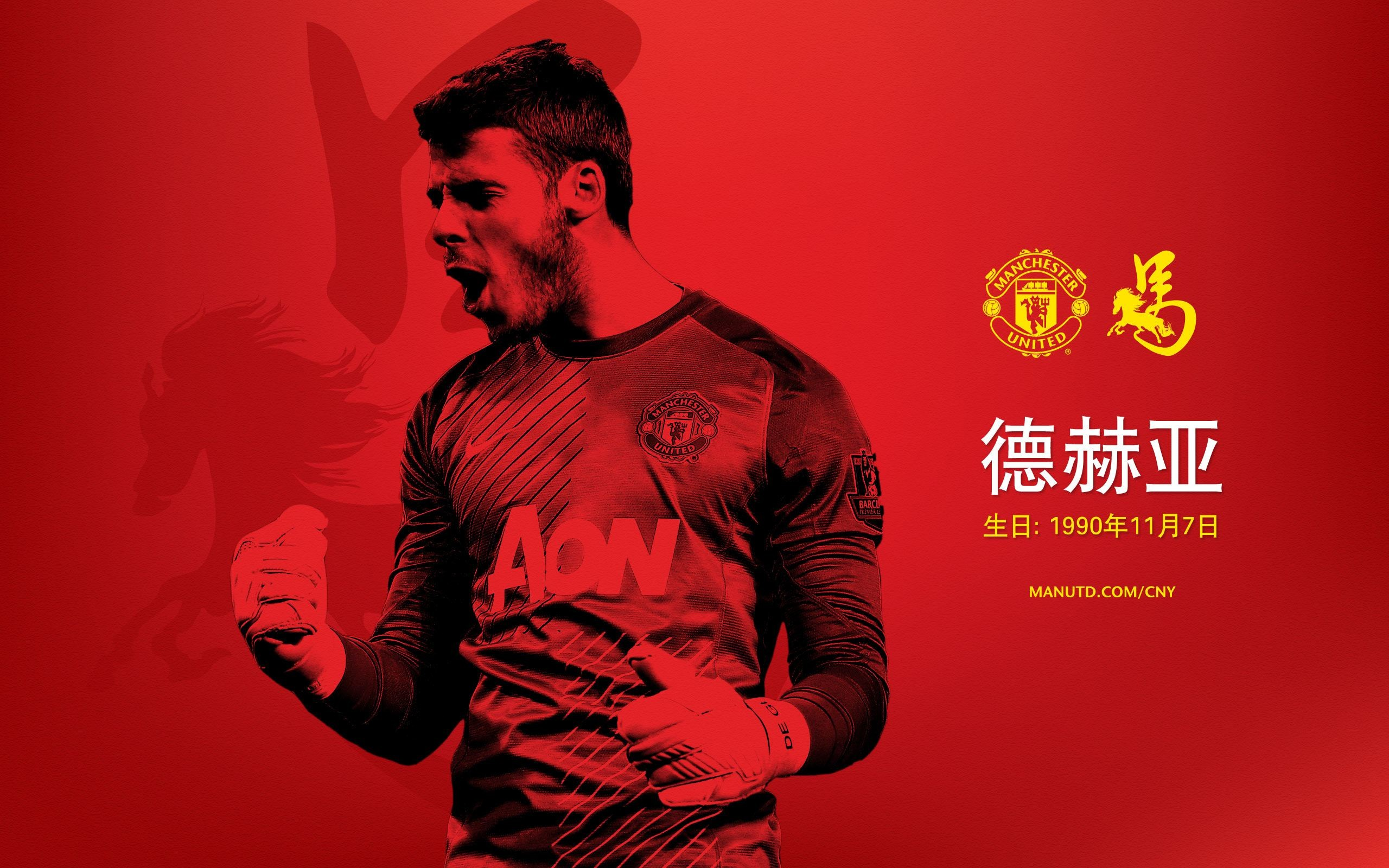 Manchester United Chinese New Year Wallpaper 2014 1