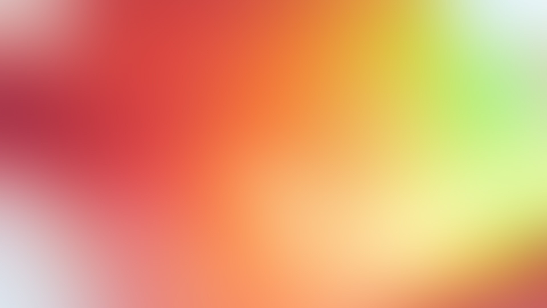Wallpaper yellow, red, spots, background, abstract