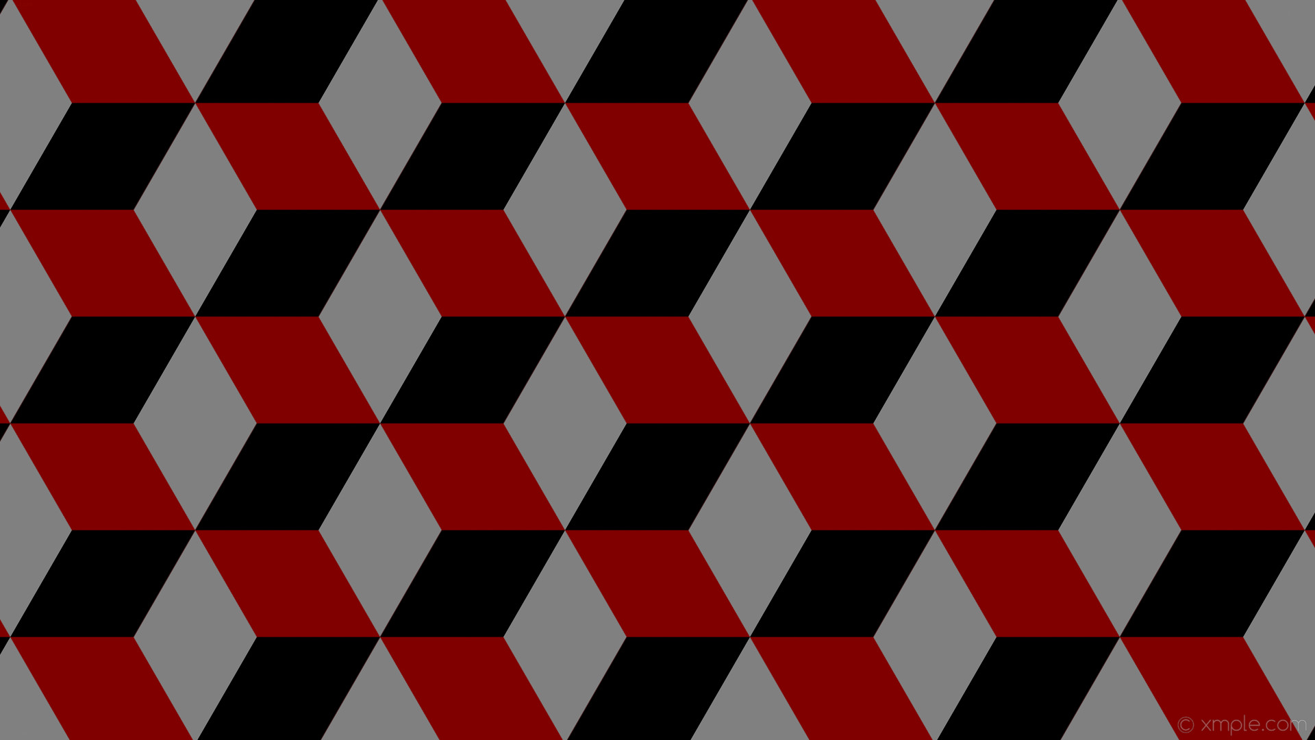 wallpaper black grey 3d cubes brown maroon gray #800000 #808080 #000000 150°