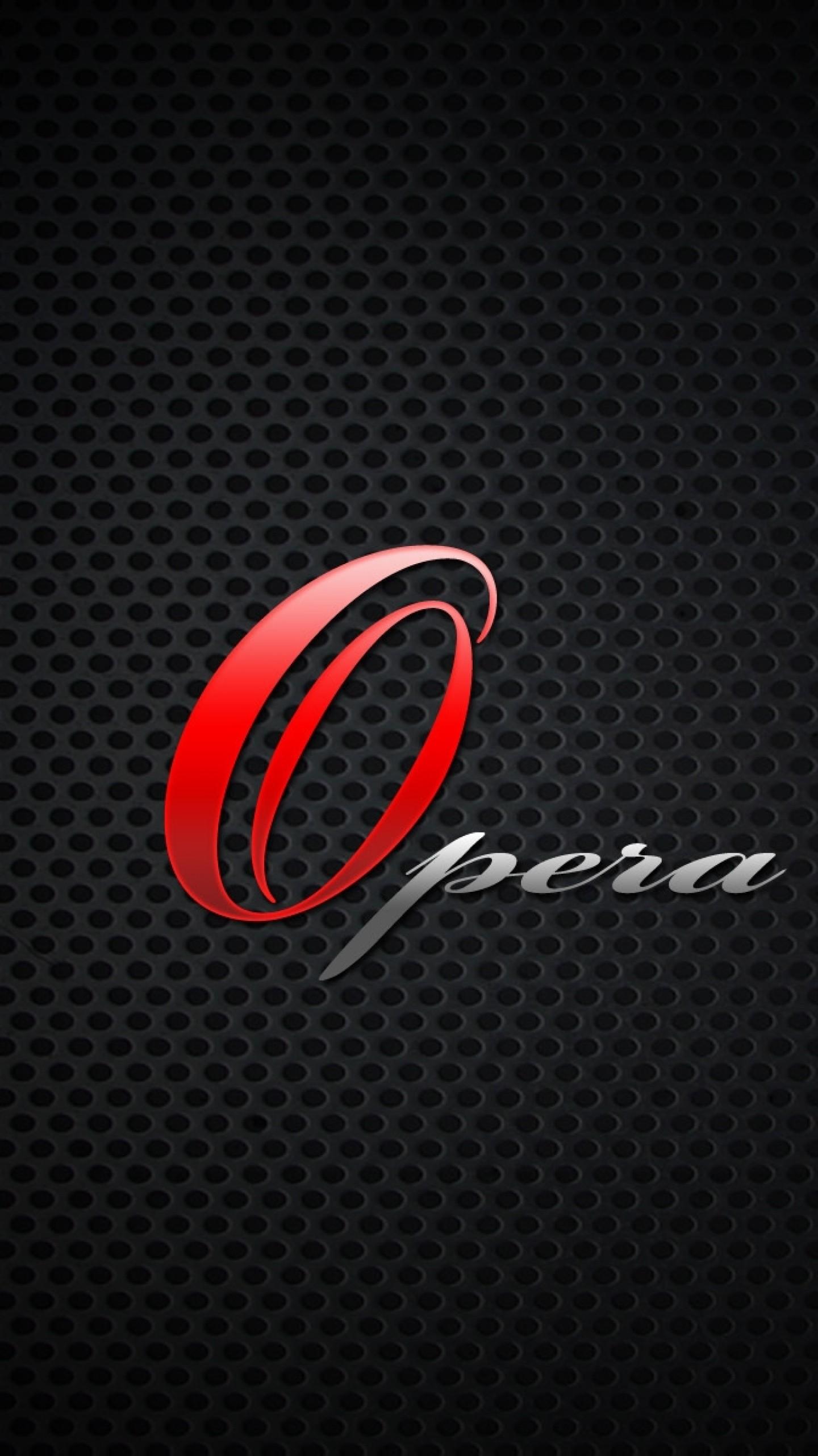 Wallpaper opera, browser, red, black, gray