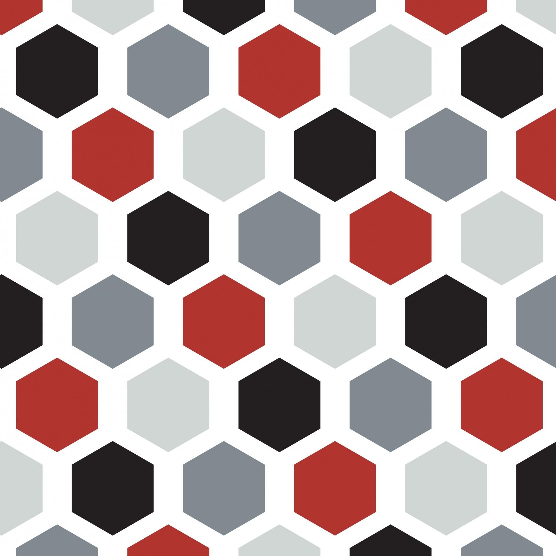 Stripes Background Grey Black Hexagon Seamless Wallpaper Pattern …
