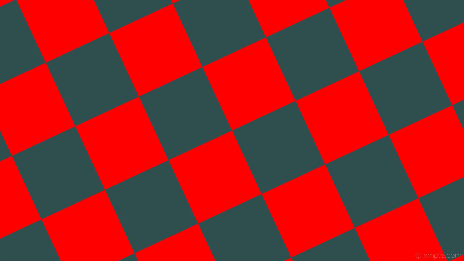 wallpaper checkered grey squares red dark slate gray #2f4f4f #ff0000  diagonal 25° 290px