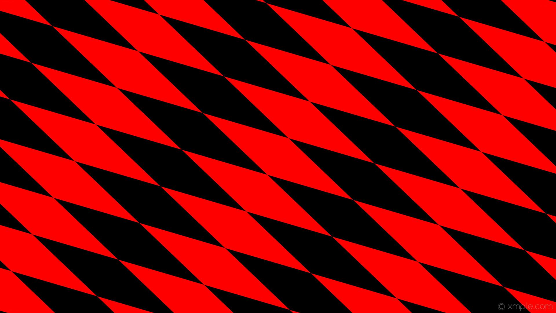 wallpaper rhombus diamond red black lozenge #ff0000 #000000 150° 600px 146px