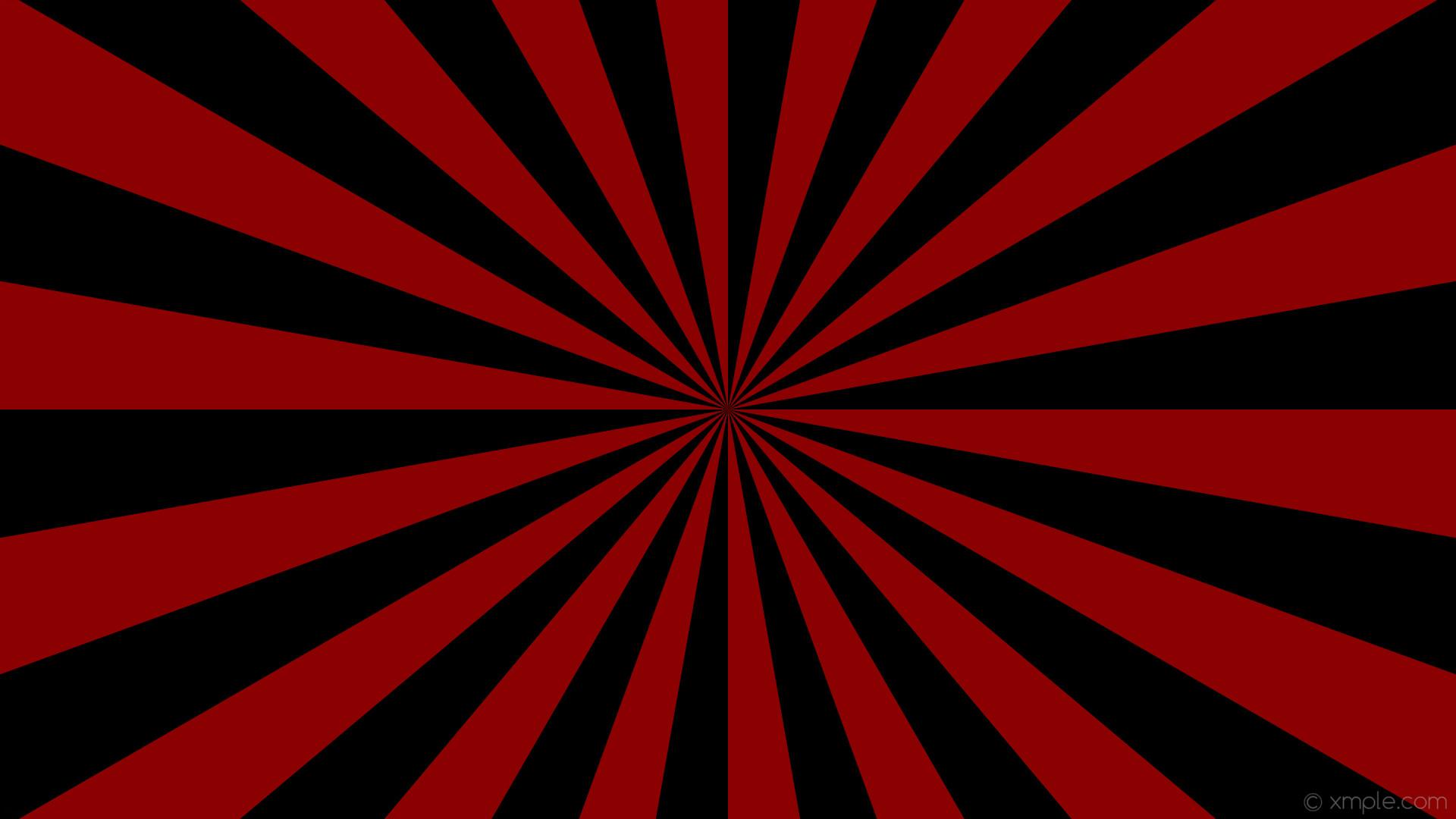 wallpaper rays black red burst sunburst dark red #8b0000 #000000 10° 18 0