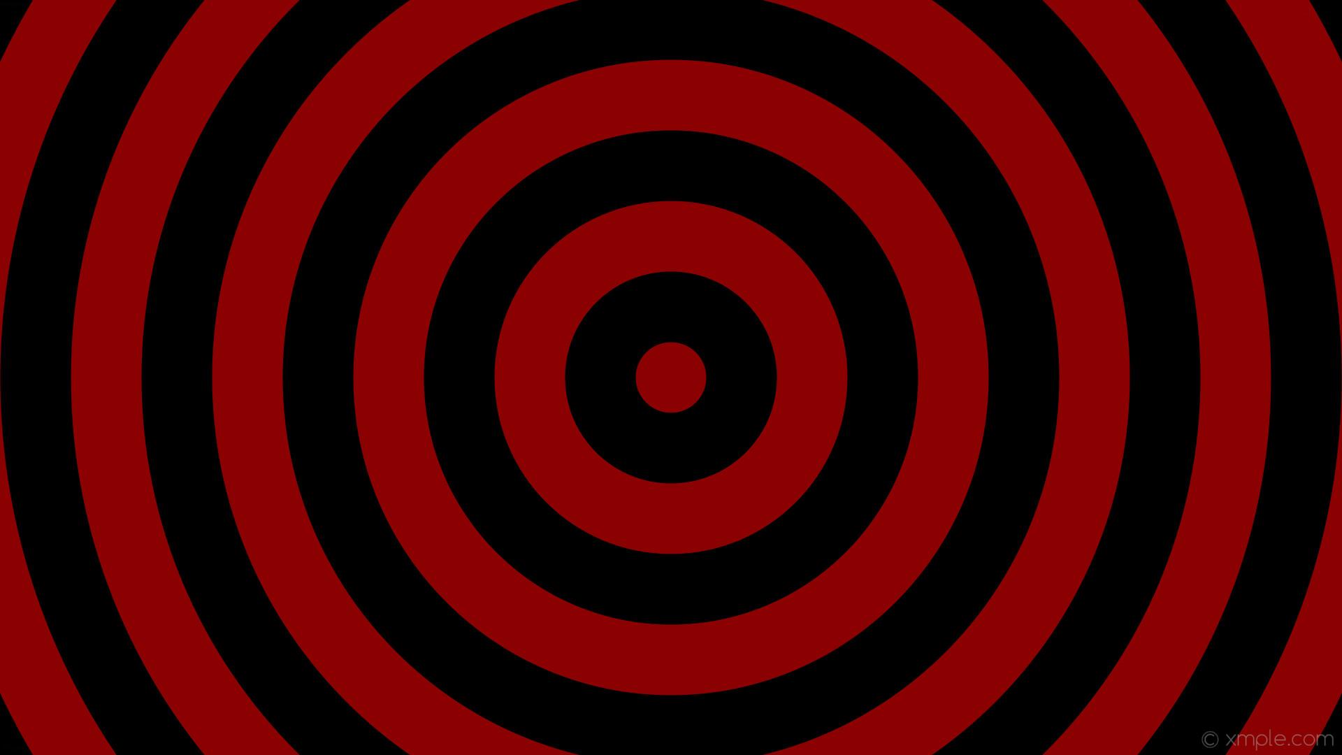 wallpaper circles black concentric drop shadow rings red dark red #000000  #8b0000 19 12