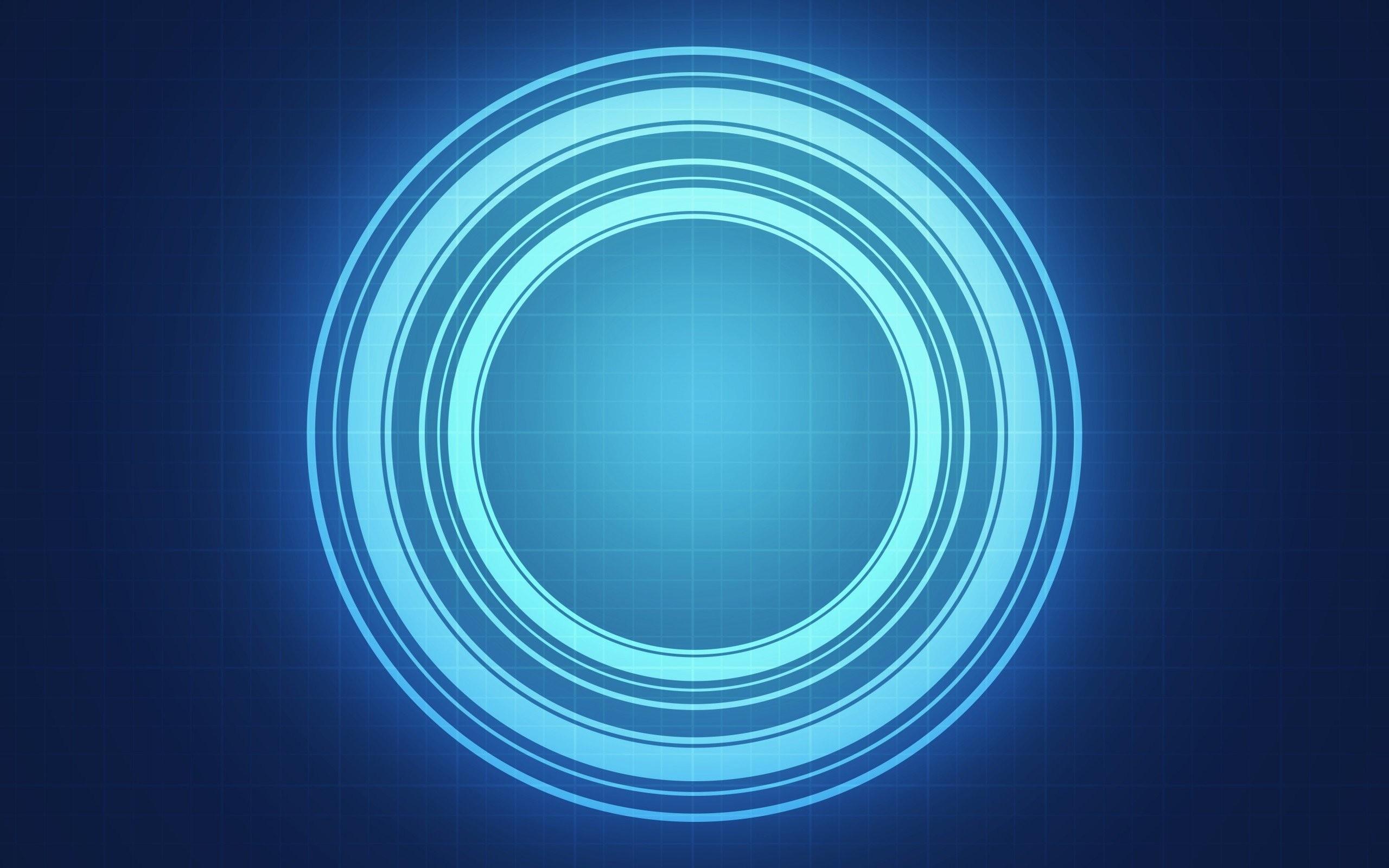 Abstract blue circle light wallpaper     454902   WallpaperUP