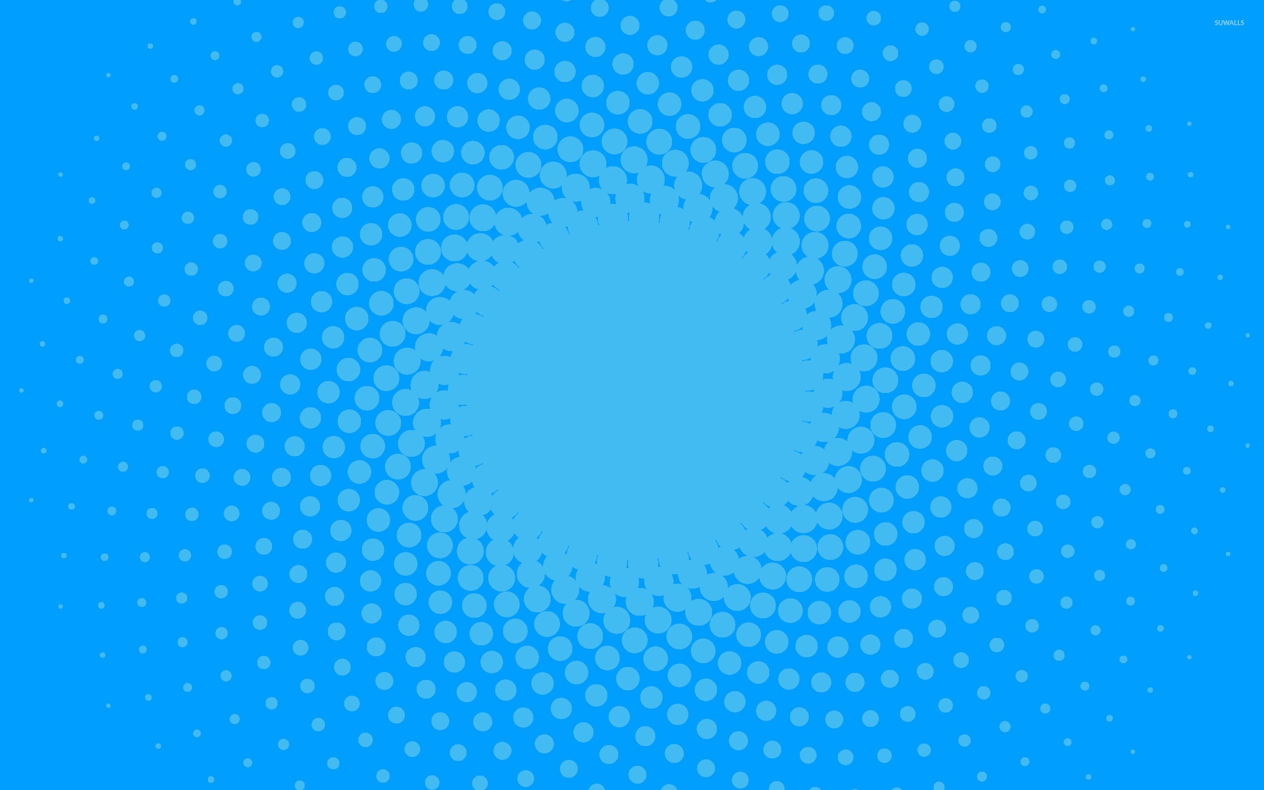 Blue circles wallpaper – Abstract wallpapers – #21552